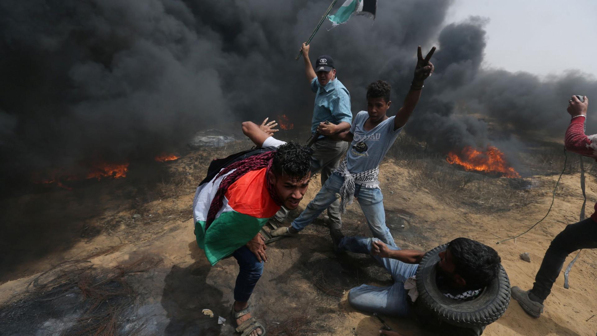 Dois palestinos são mortos em ataque de Israel na Faixa de Gaza