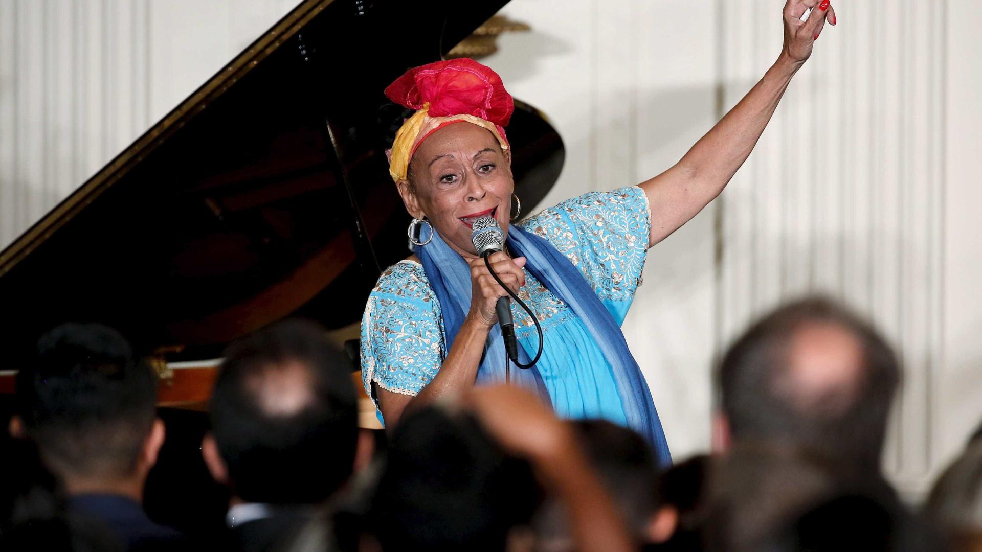 Omara Portuondo e João Donato cantam para celebrar Cuba e Brasil