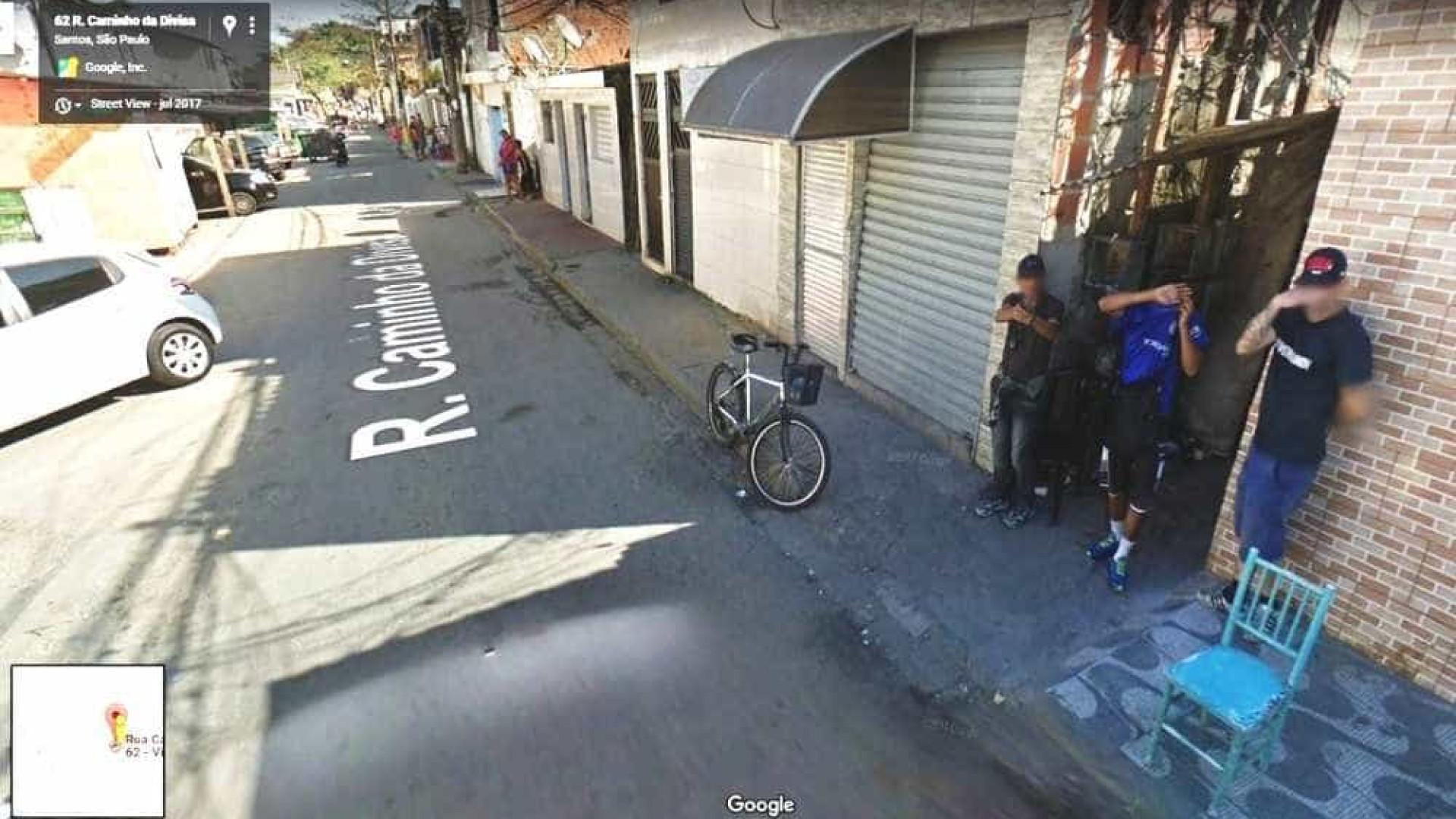 Homem aponta arma para carro do 'Google Street Views' em SP