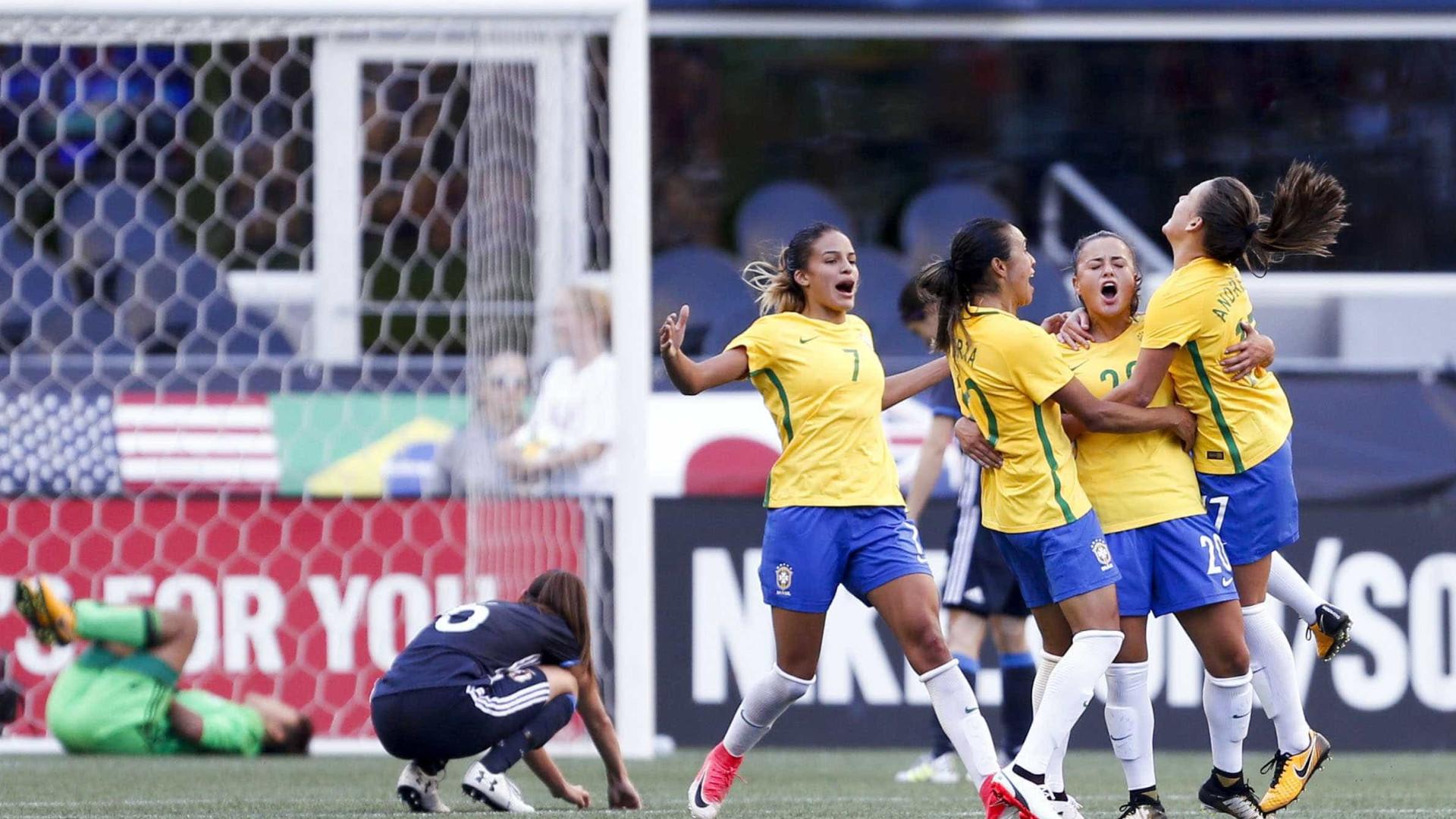 Futebol feminino do Brasil garante vaga na Olimpíada