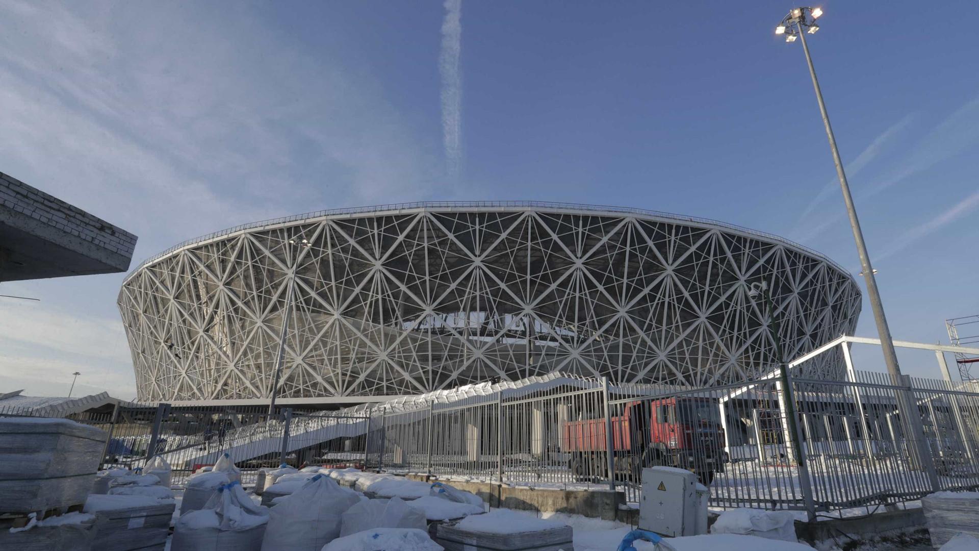Rússia anuncia inauguração de palco da Copa com portões abertos
