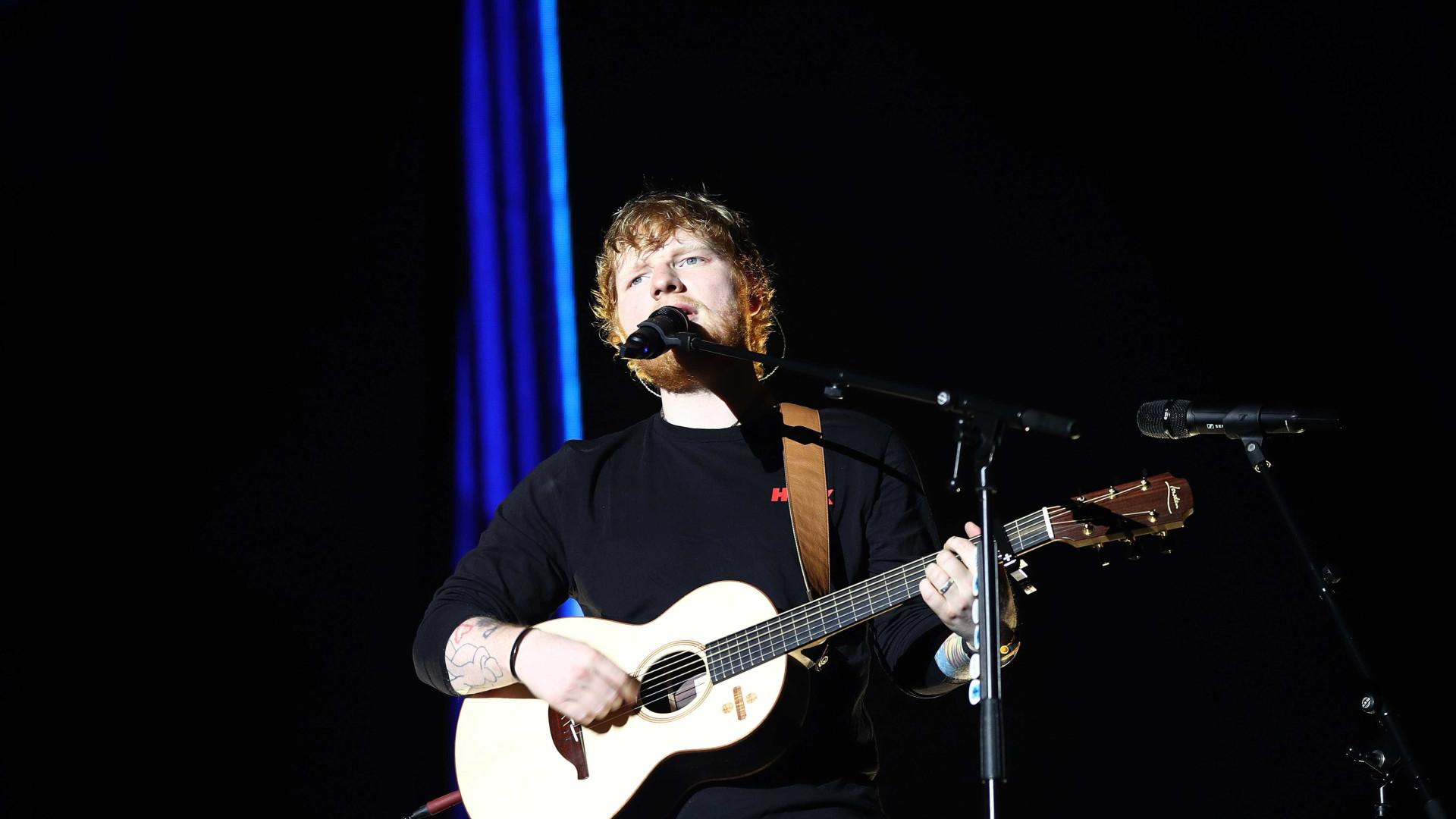 Ingressos para shows de Ed Sheeran no Brasil custam até R$ 650