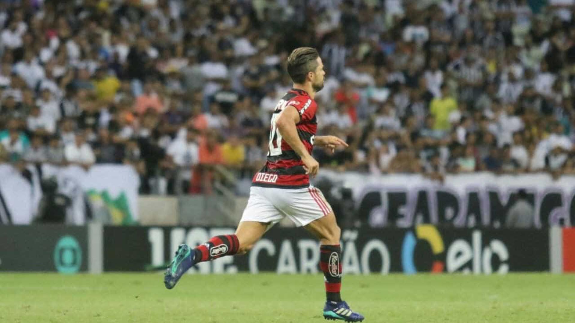 Diego lamenta agressões no Rio diz que não pensou em deixar o Fla