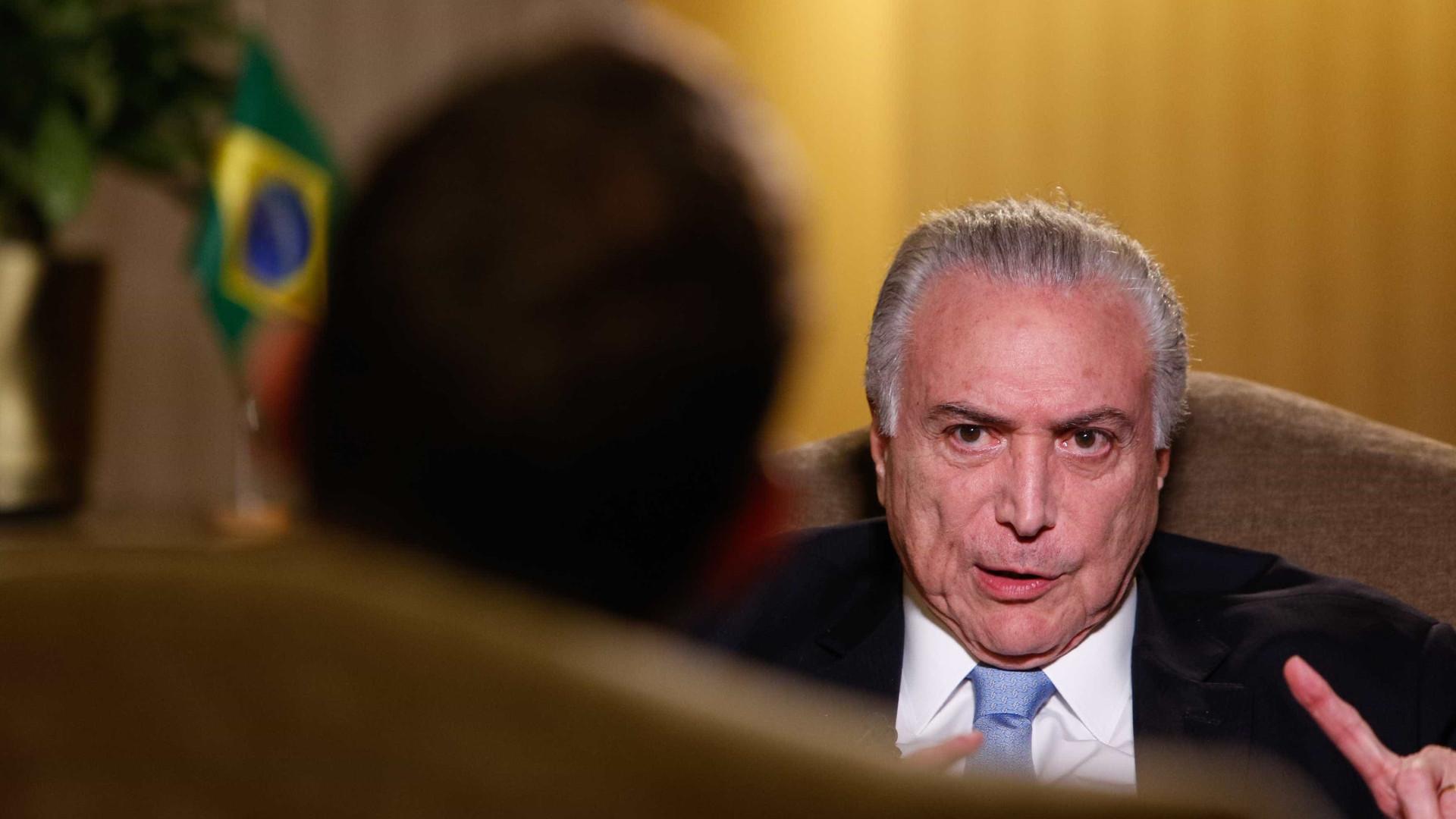PF aponta indícios de envolvimento de Temer em esquema de corrupção