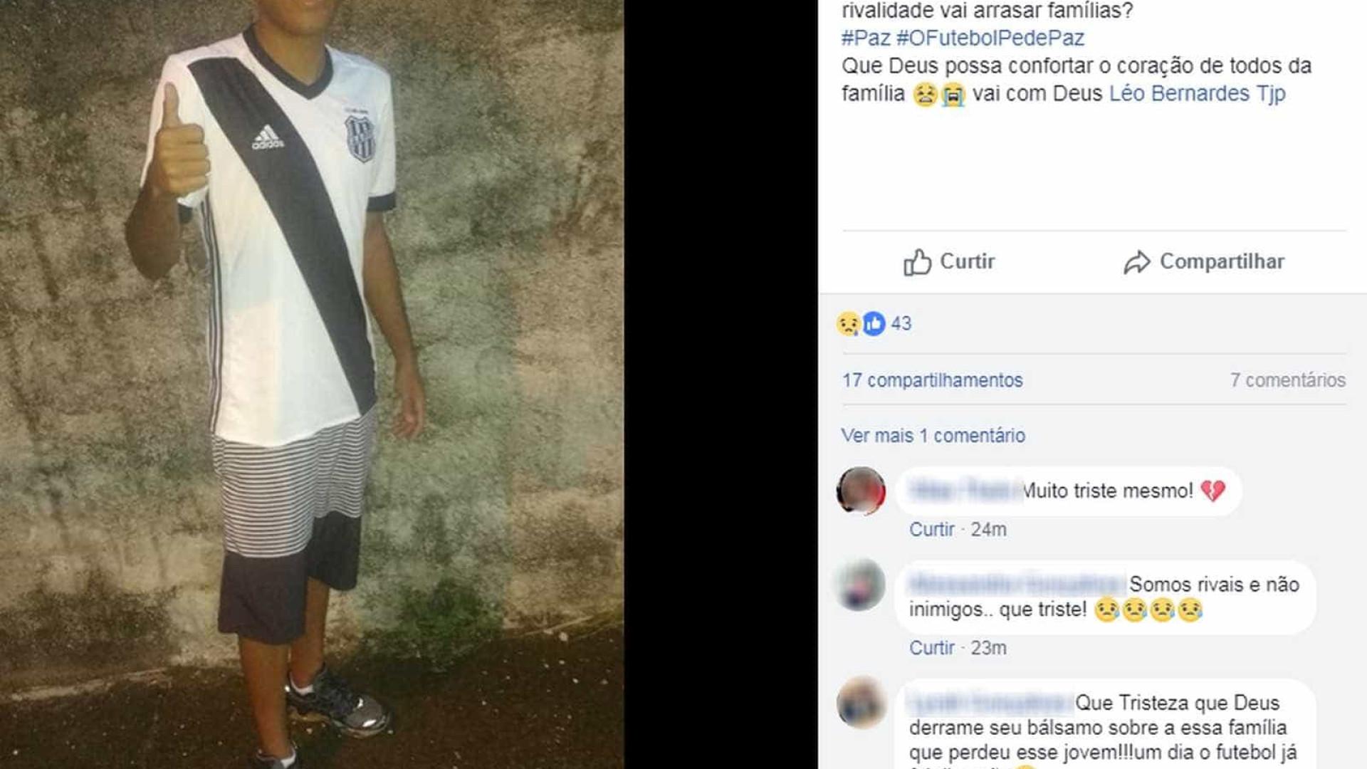 Homem morre baleado em briga de torcidas antes de â??Guarani x Ponteâ??