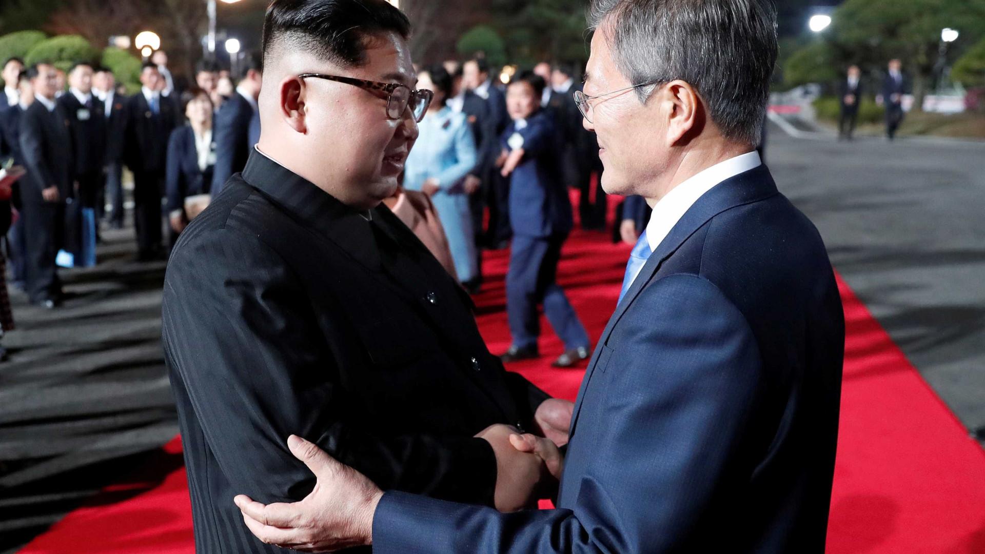 Coreias do Sul e do Norte divulgam planos conjuntos para ferrovia