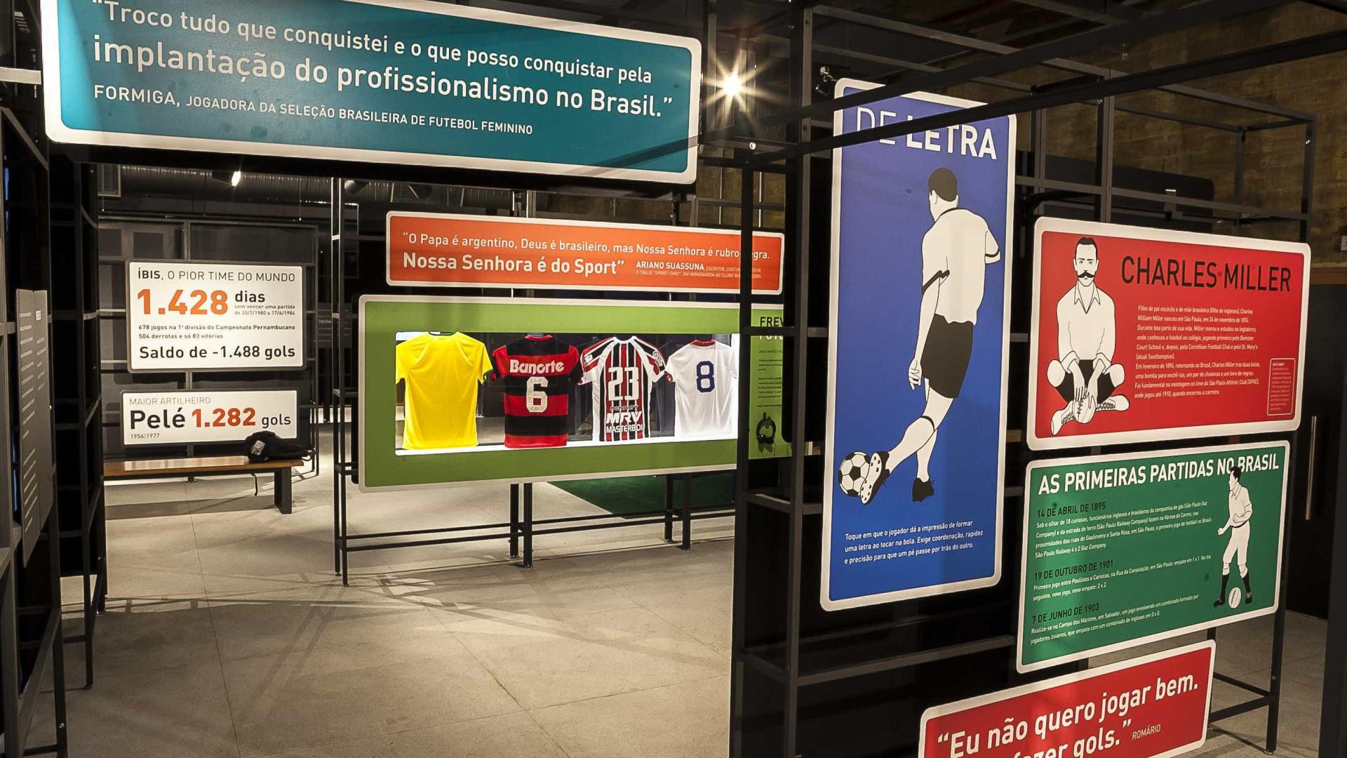Museu do Futebol fará mostra itinerante em todo o país neste ano