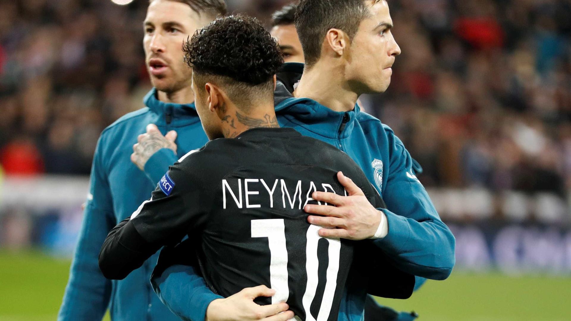 Neymar conversa com o Real Madrid e preço superaria R$1 bilhão