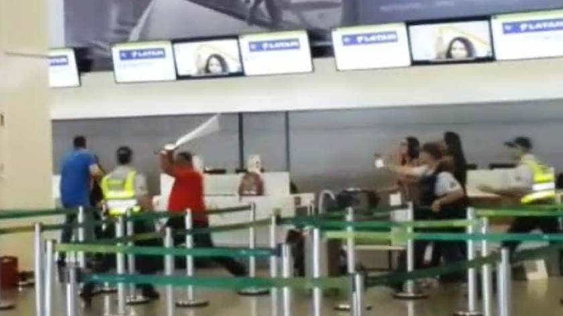 Bombeiro surta no aeroporto de Brasília ao perder voo e é preso