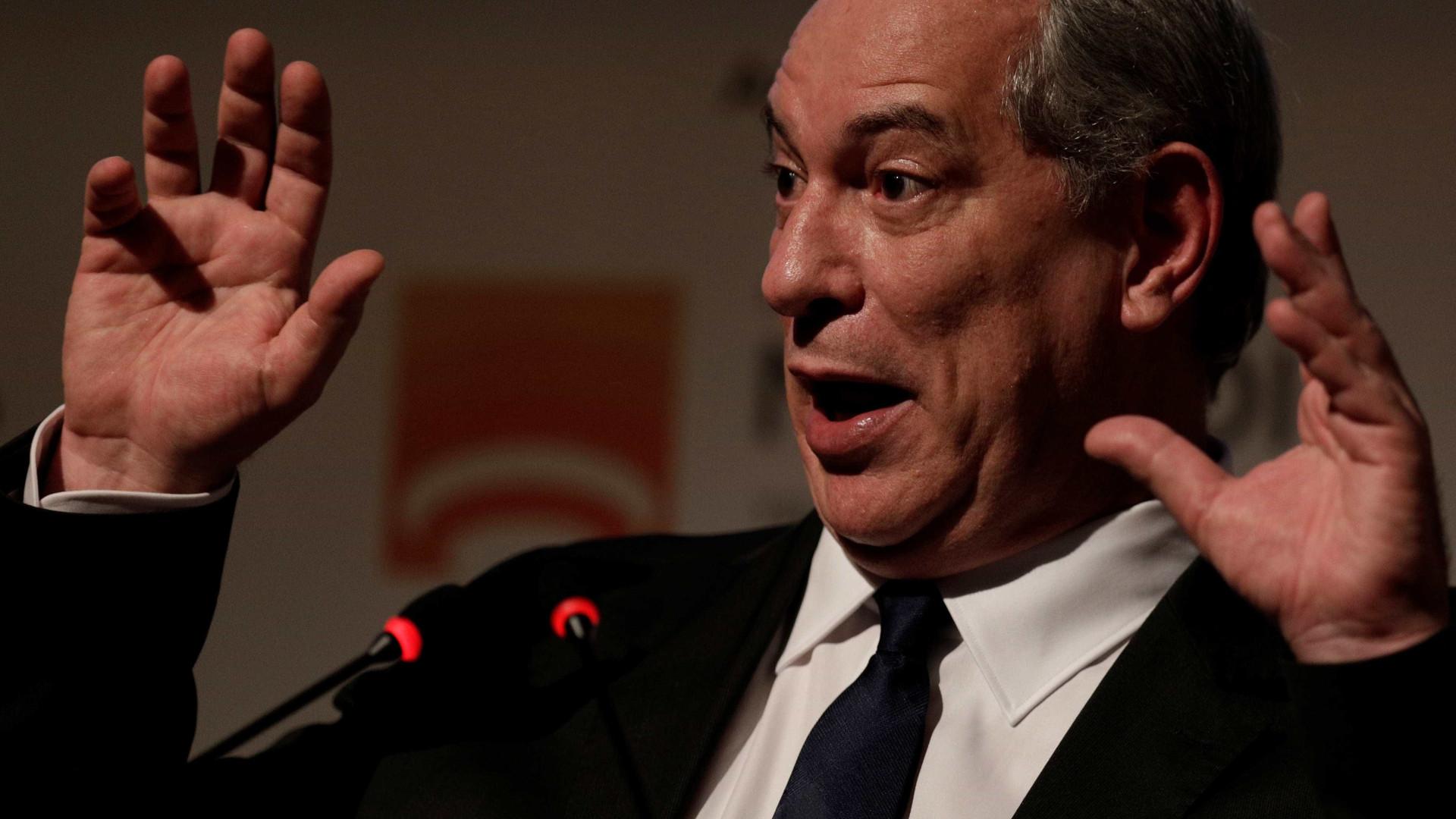 Vice do mercado financeiro 'em nenhuma hipótese', diz Ciro