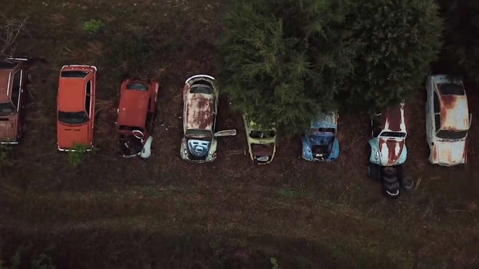 Imagens únicas de uma sucata abandonada no Arkansas