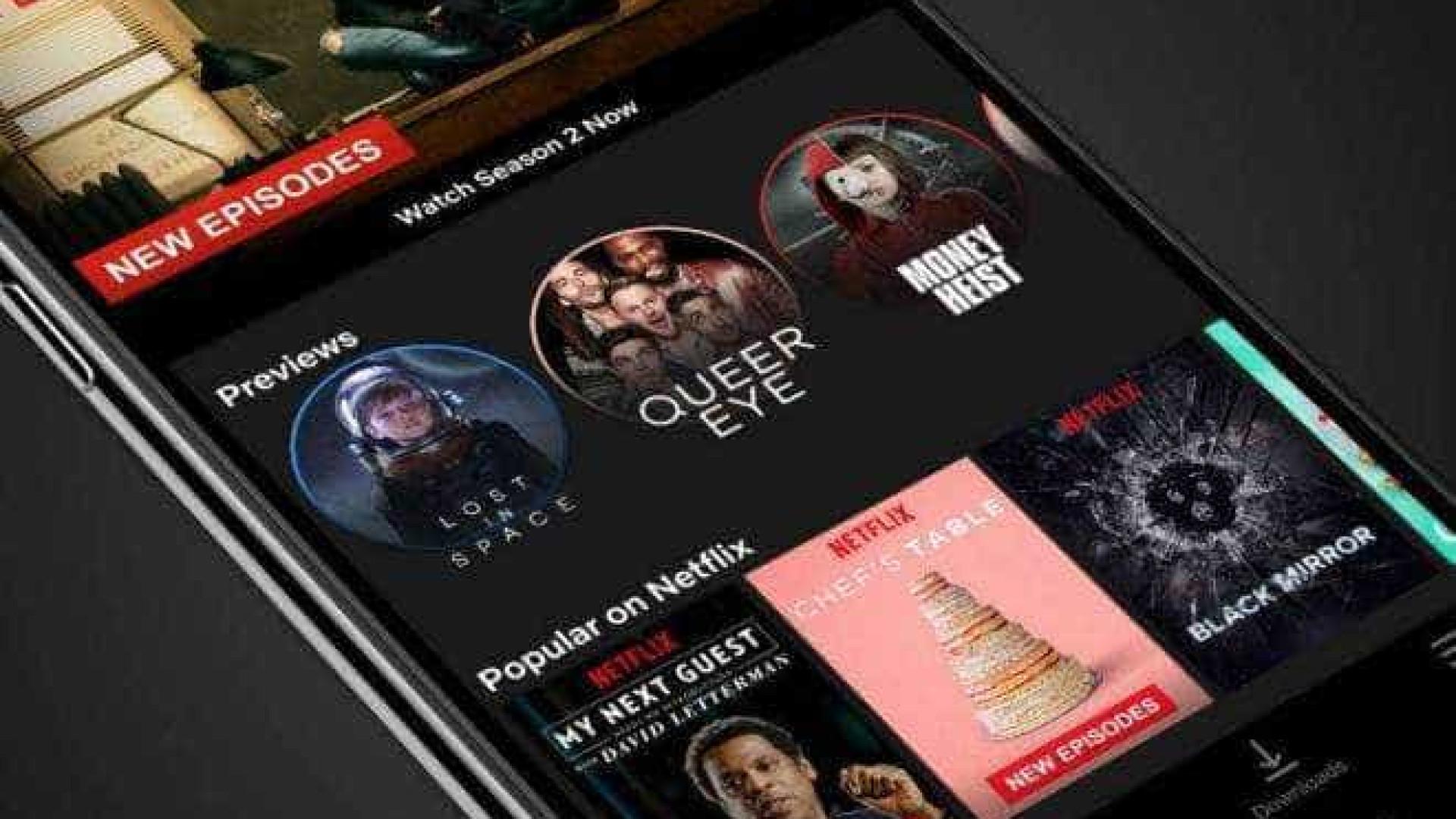 Usuários do sistema Android começam a acessar os 'Stories' da Netflix