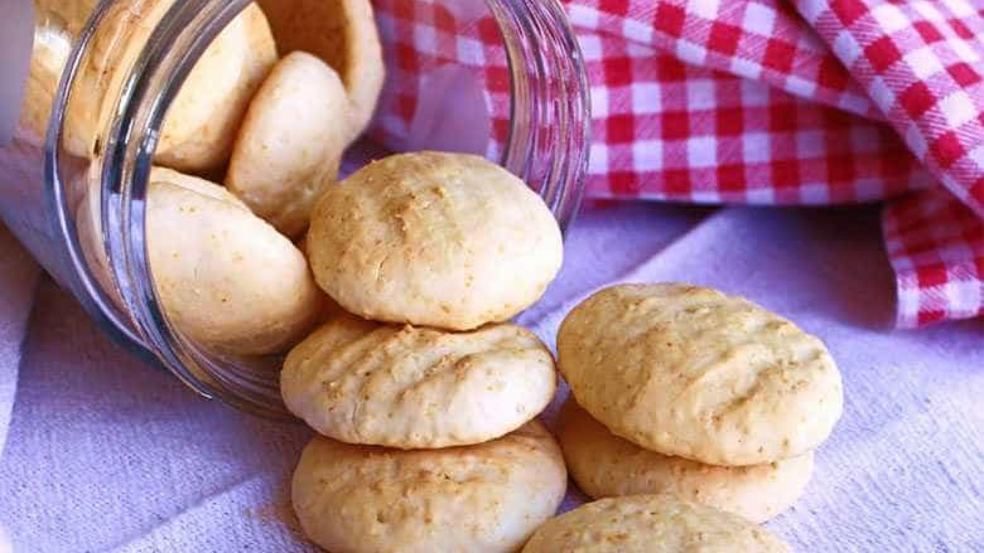 Faça um biscoito amanteigado com apenas 3 ingredientes