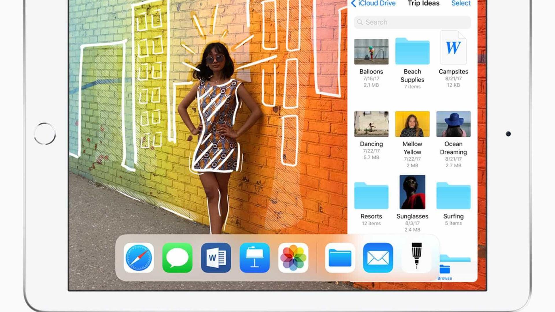 """iPad de 9,7"""" chega ao Brasil com suporte para caneta; veja valores"""
