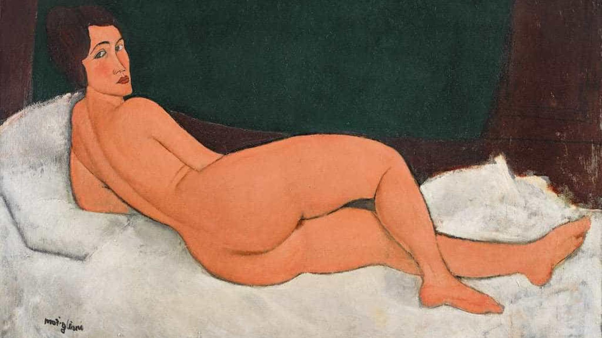 Quadro de Modigliani é leiloado por valor recorde