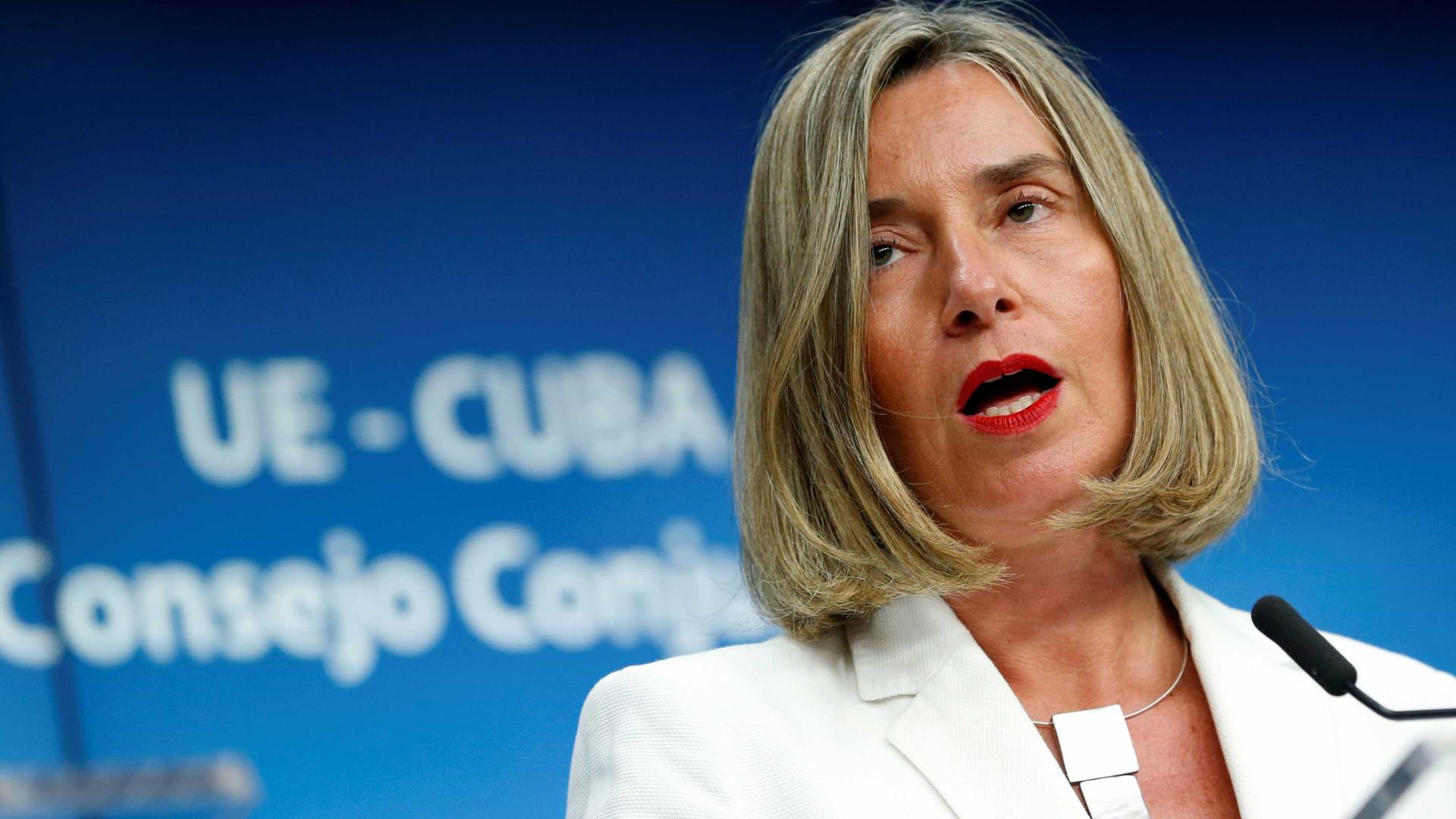 UE se diz determinada a 'salvar' acordo nuclear com Irã