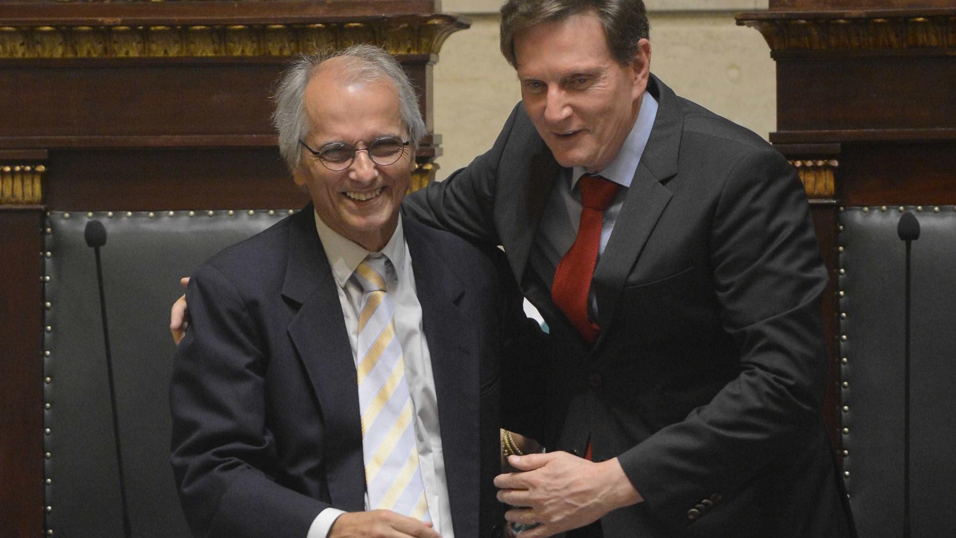 Vítima de infarto, vice-prefeito do Rio está em estado grave