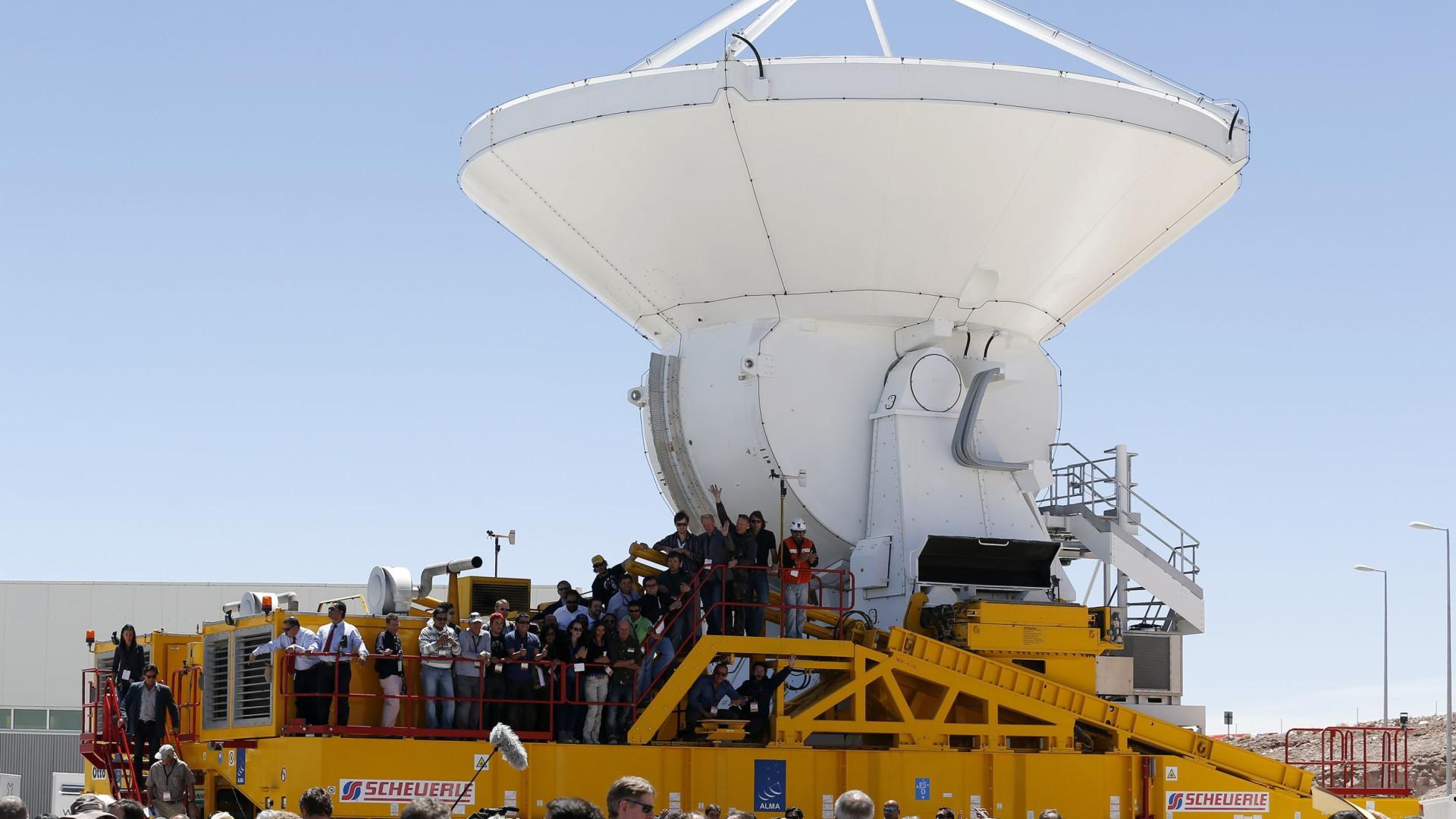 Astrônomos detectam os traços de oxigênio mais distantes do Universo