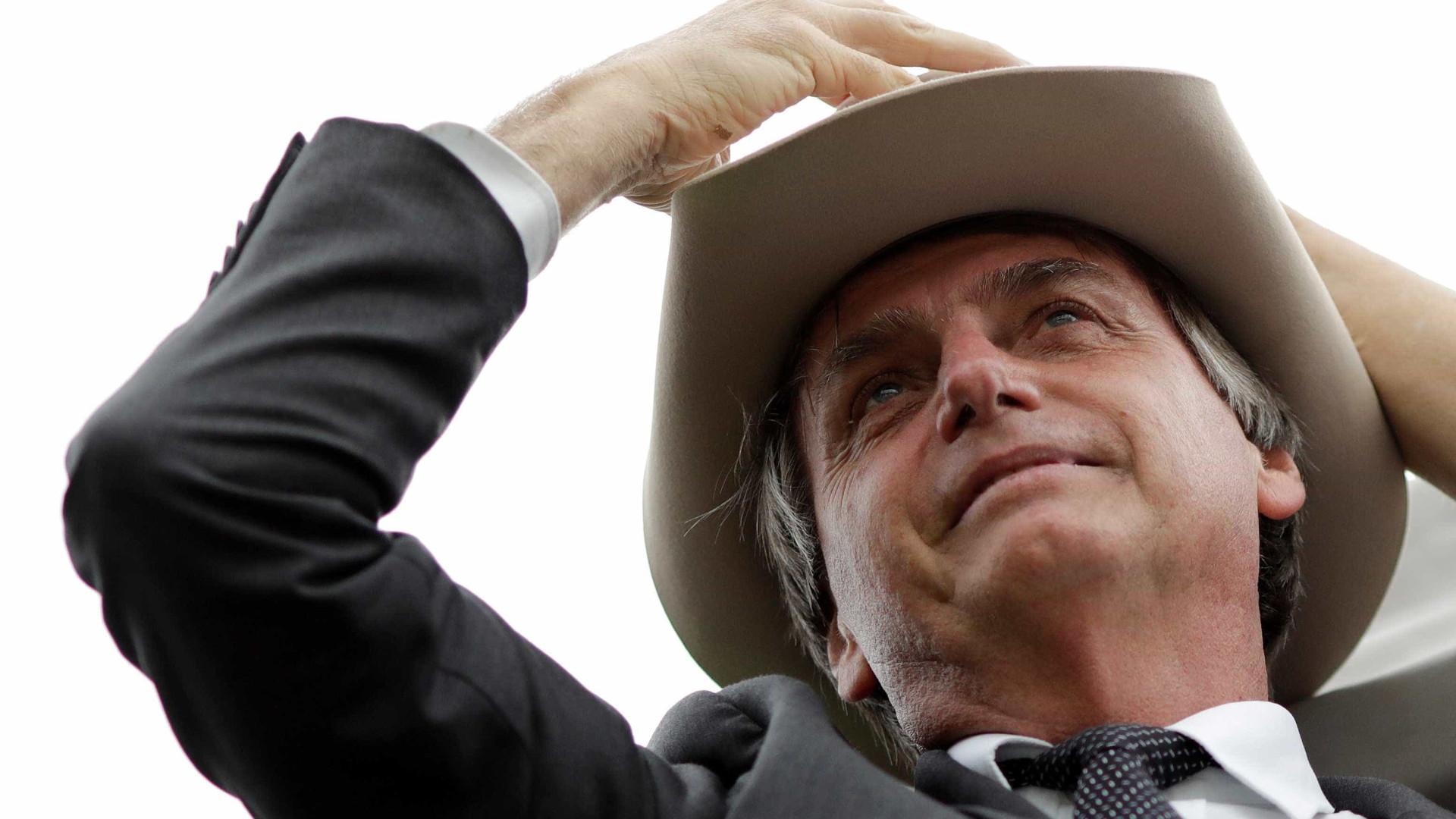 Alckmin e Bolsonaro disputam votos de ruralistas em feira agropecuária