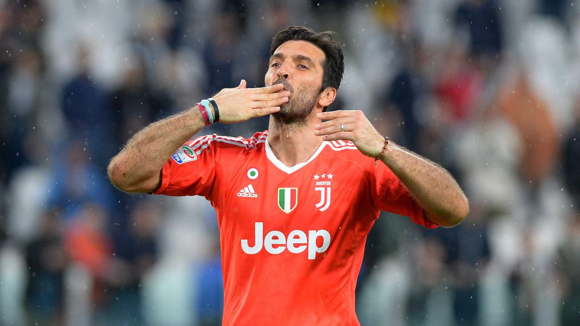 Juventus divulga vídeo em homenagem a Buffon, que deixará o clube