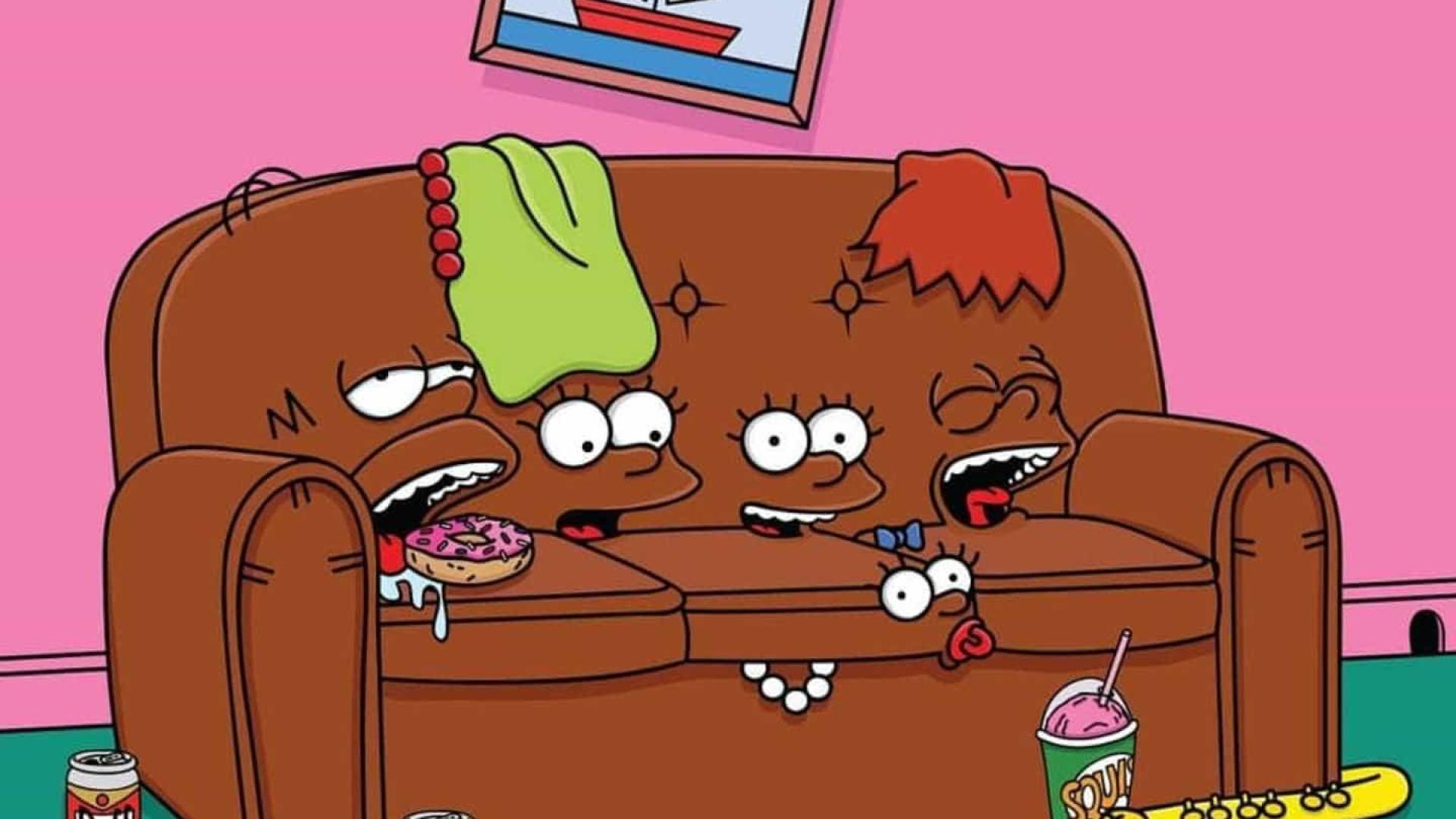 Paulistas terão a oportunidade de sentar no sofá de 'Os Simpsons'