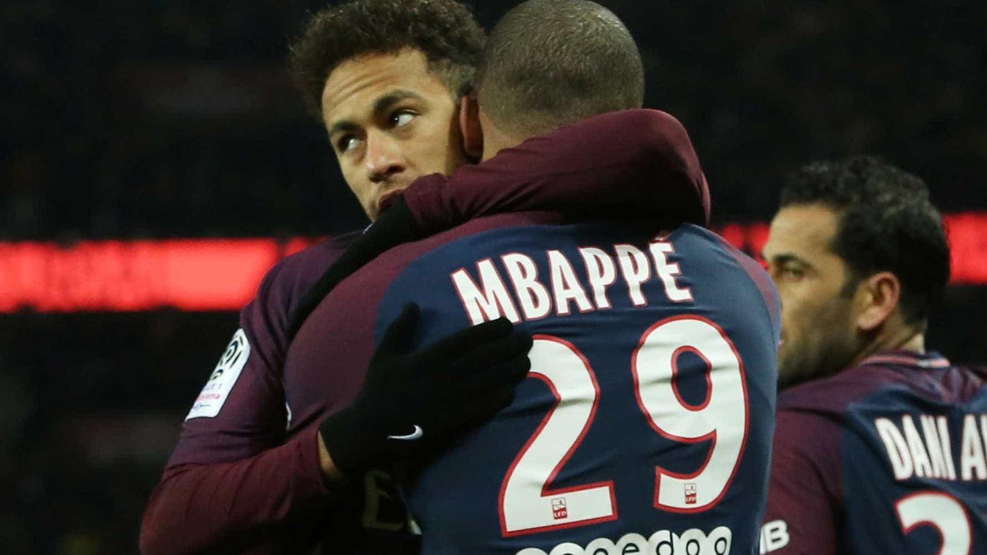 Mbappé diz que Neymar está pronto para Copa do Mundo