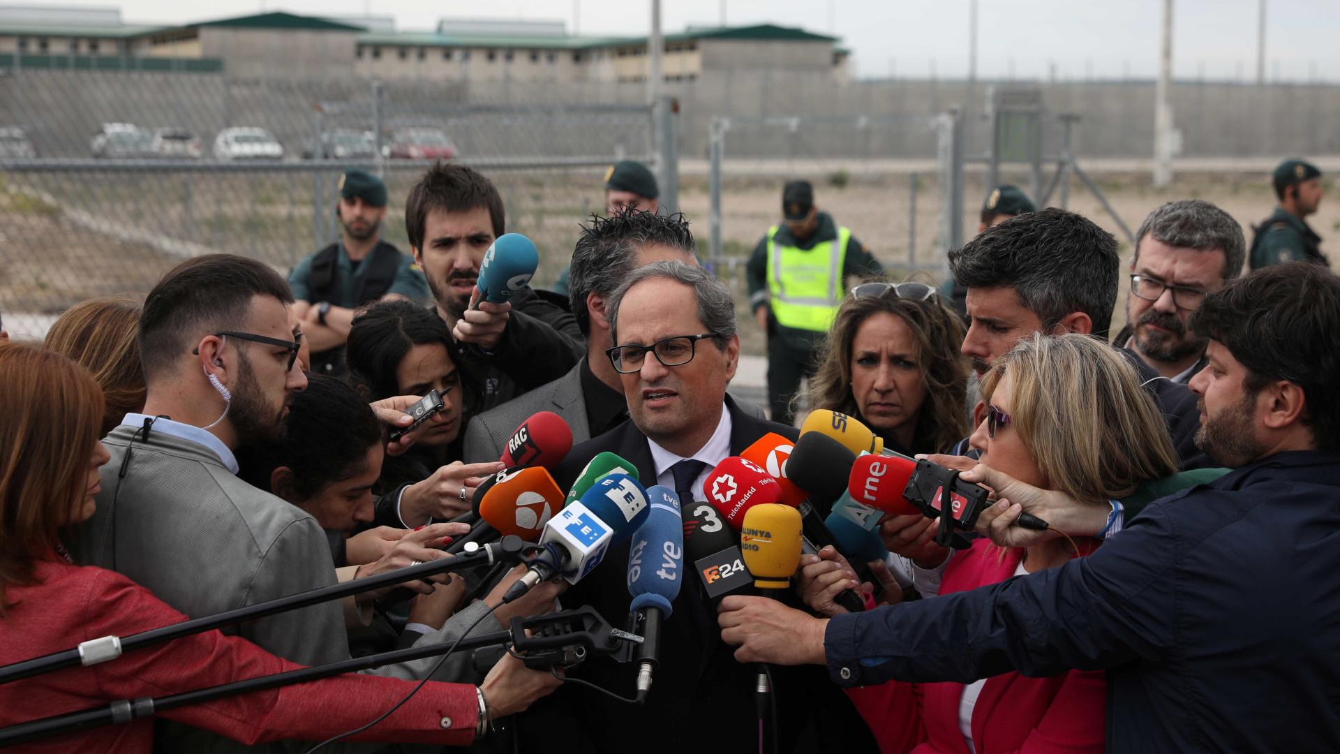 Madri rejeita gabinete proposto por novo líder da Catalunha