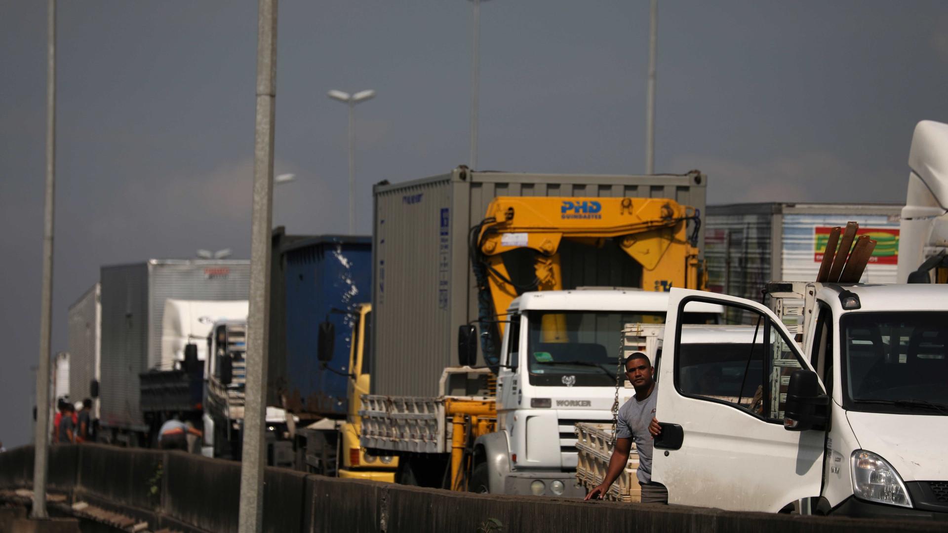 Polícia Rodoviária diz que país tem 596 pontos de bloqueio em estradas
