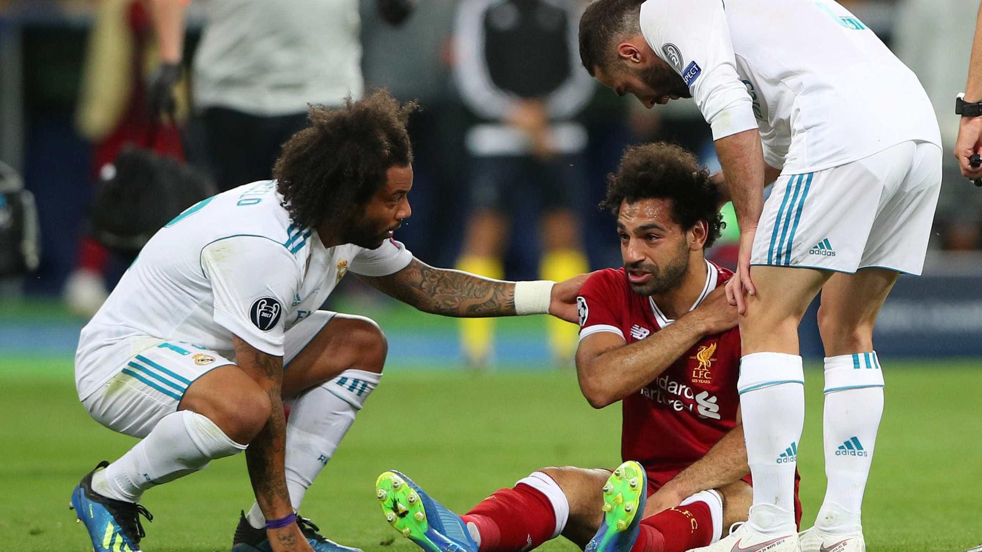 Jurgen Klopp diz que lesão de Salah é 'séria'