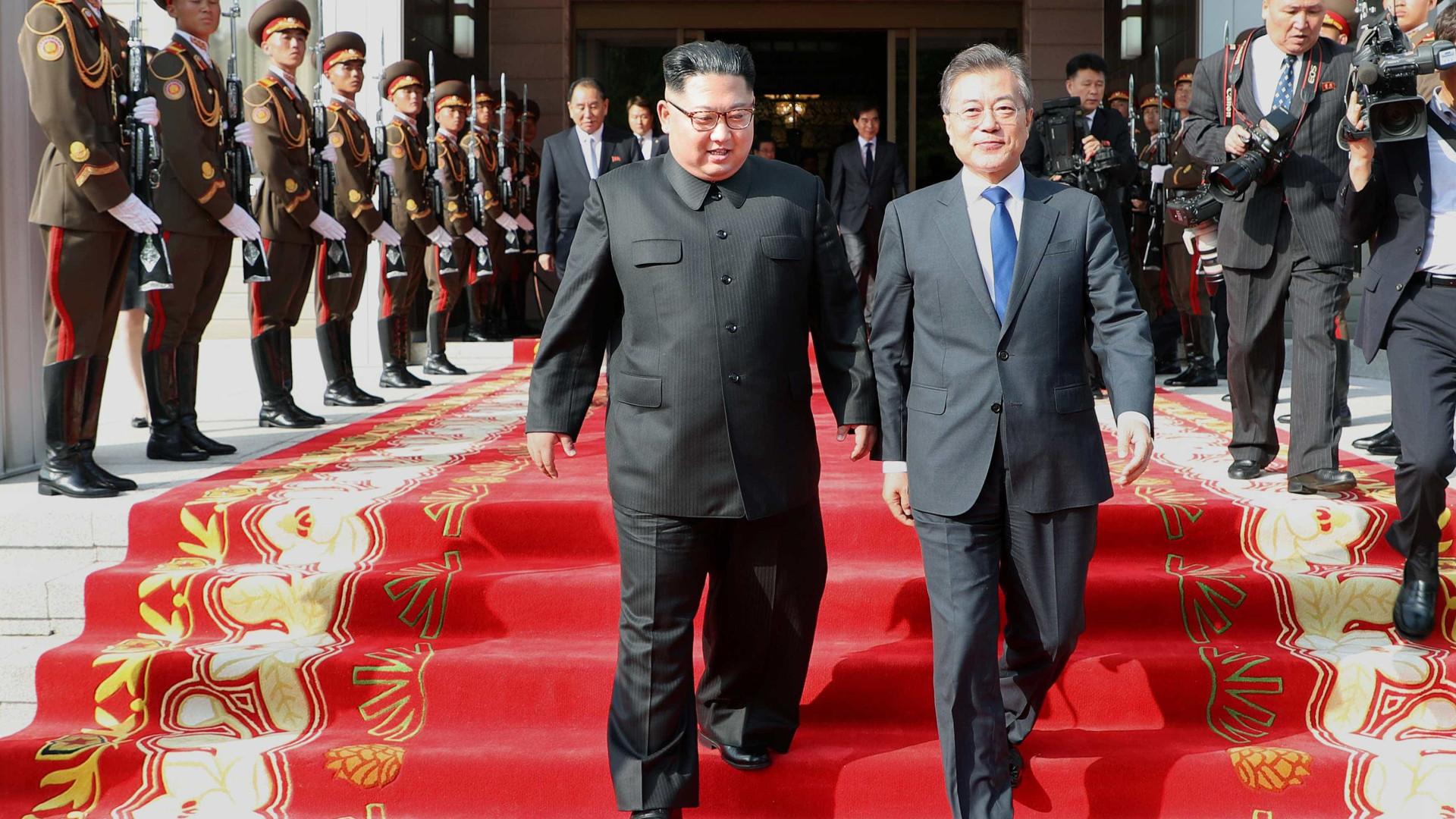 Presidente da Coreia do Sul irá ao Norte em voo direto