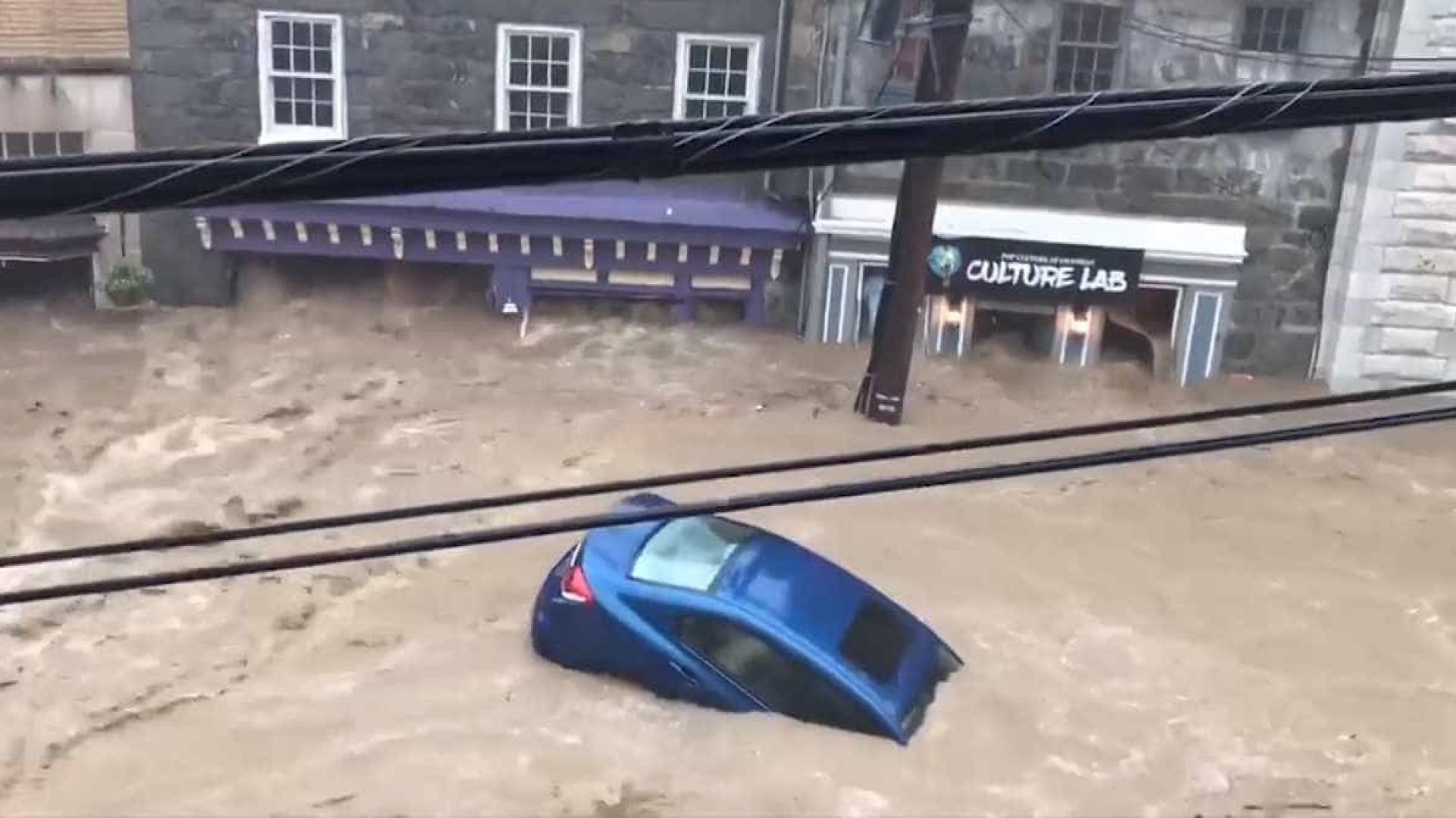Inundação catastrófica volta a atingir Maryland nos EUA
