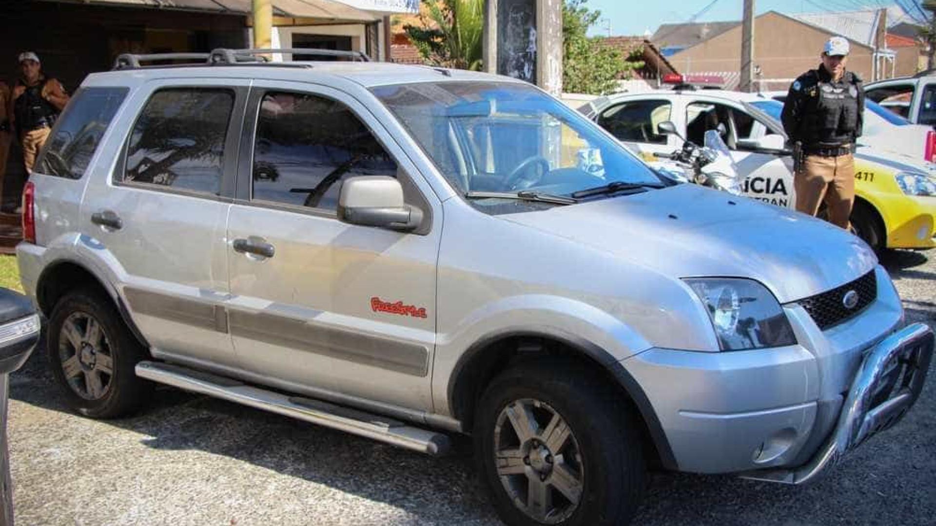Carro com R$ 88 milhões em multas é apreendido em Curitiba