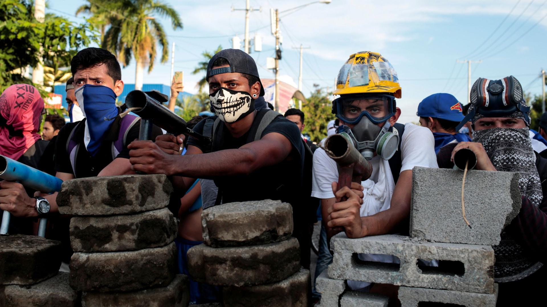 Dia de protesto e greve geral na Nicarágua deixa três mortos
