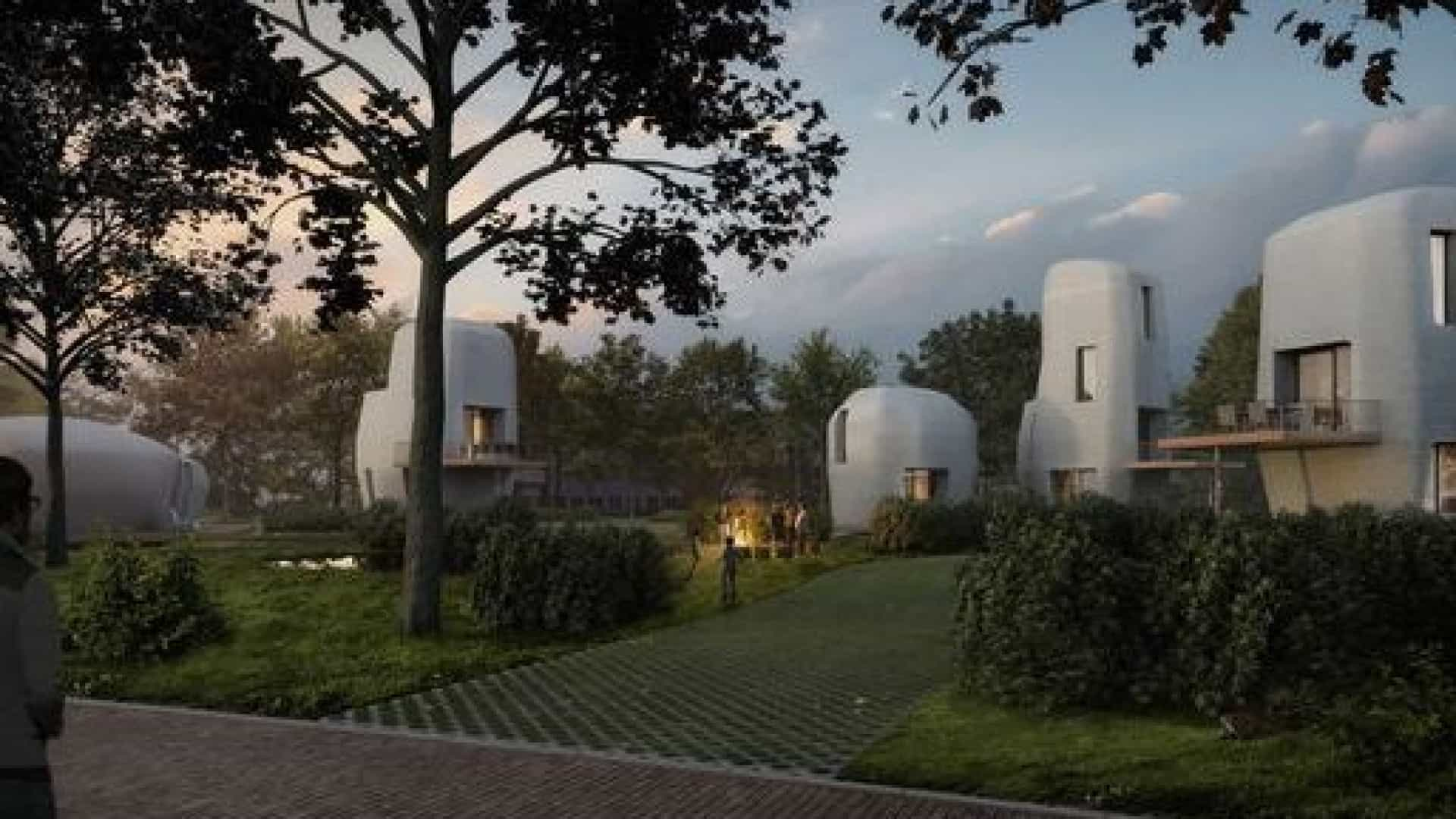 Primeiras casas feitas com impressão 3D são construídas na Holanda