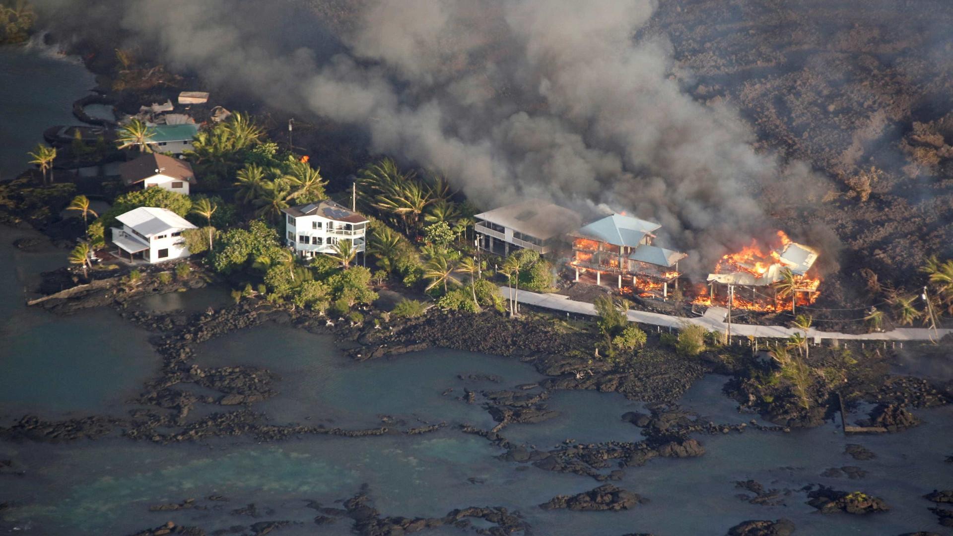 Havaí tem ajuda emergencial aprovada por Donald Trump