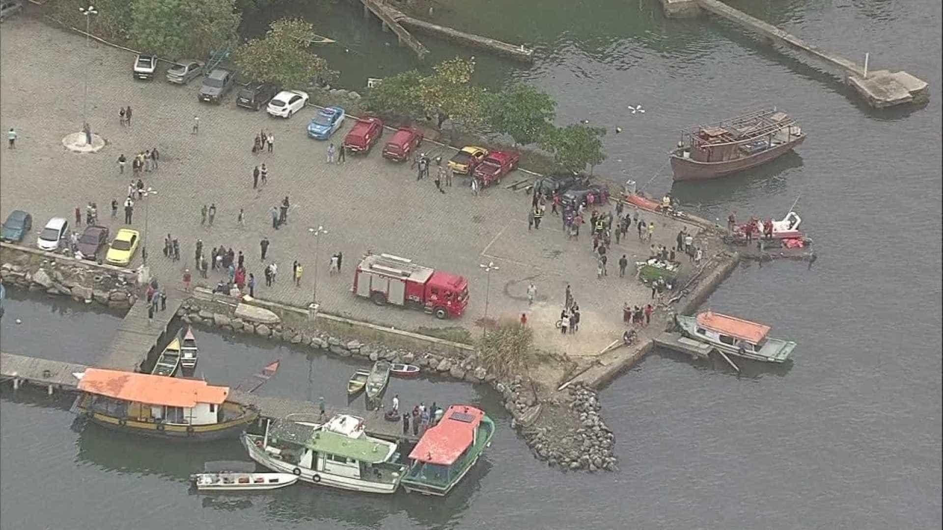 Sobe para seis o número de mortos em naufrágio em Itaguaí