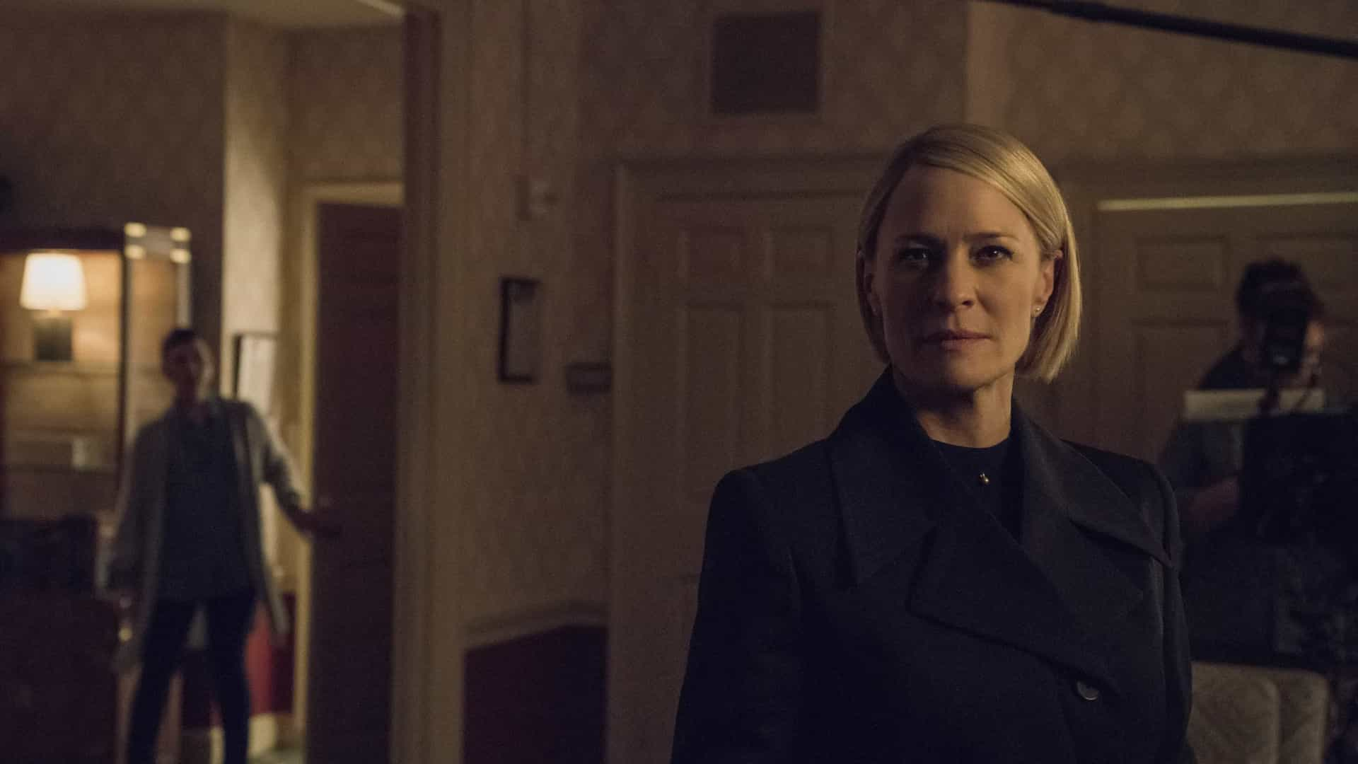 Netflix divulga fotos inéditas da temporada final de 'House of Cards'