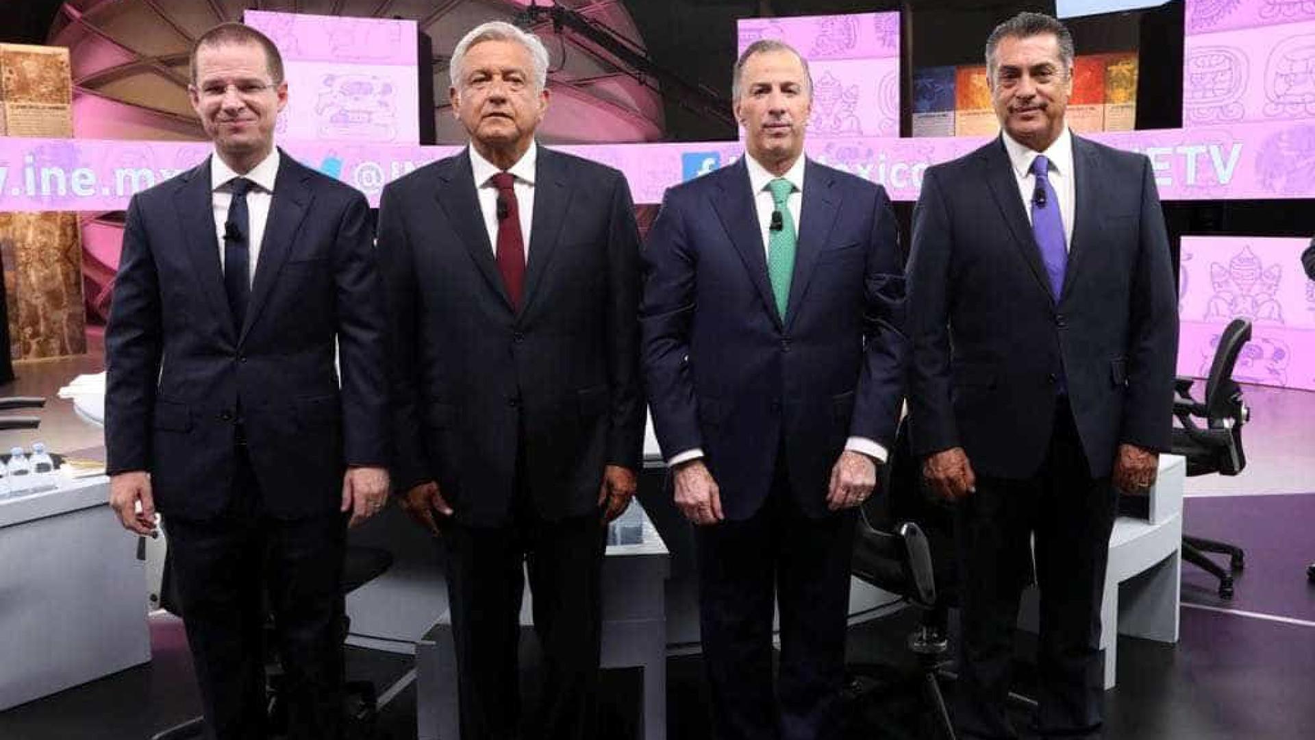 Acusações de corrupção comandam último debate presidencial no México