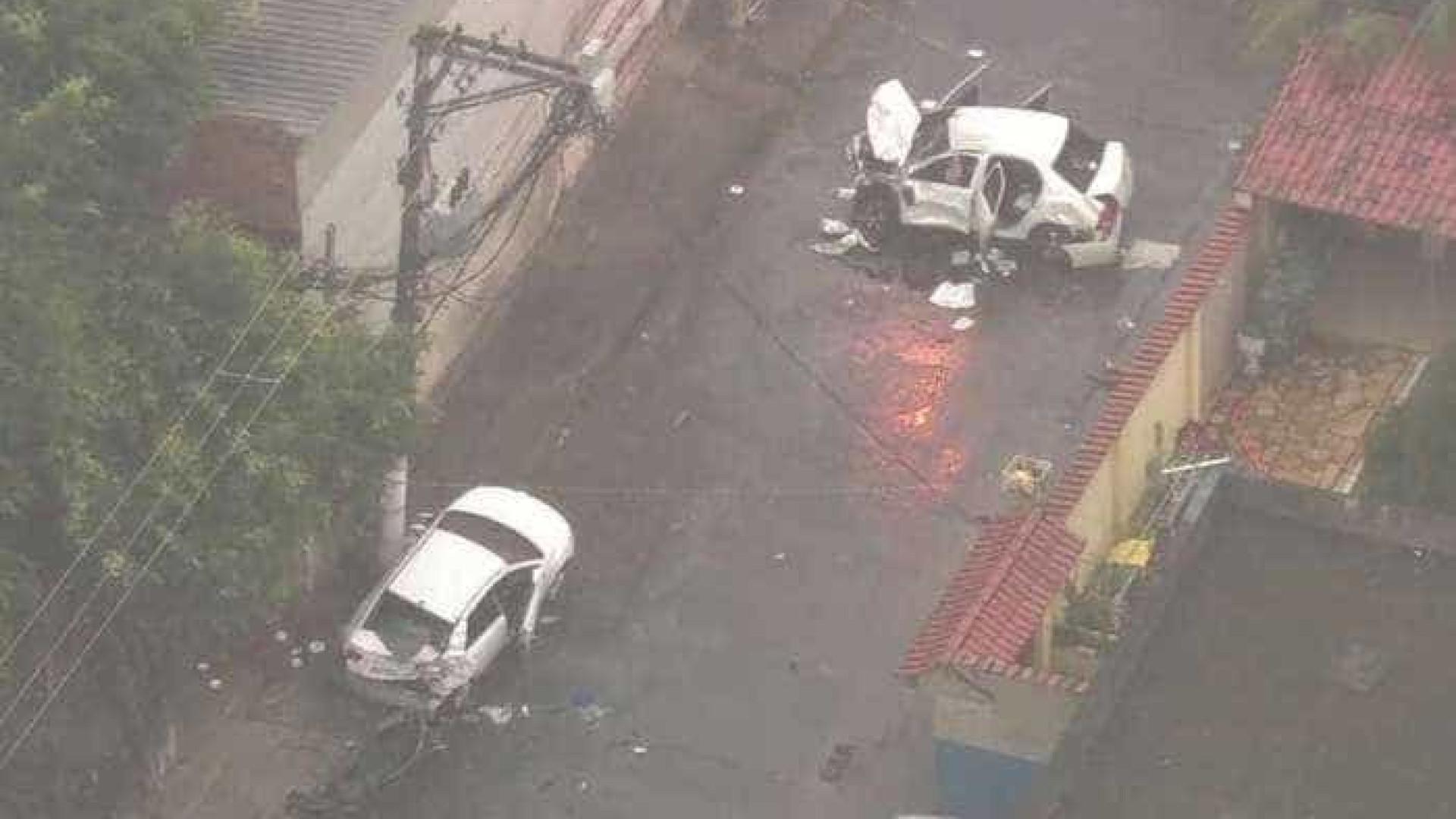 Bandidos em fuga atropelam e matam casal