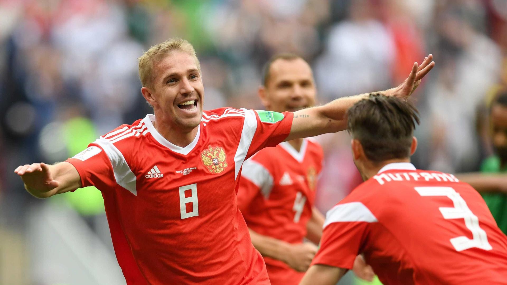 Saiba quem é Gazinsky, autor do 1º gol da Copa do Mundo da Rússia