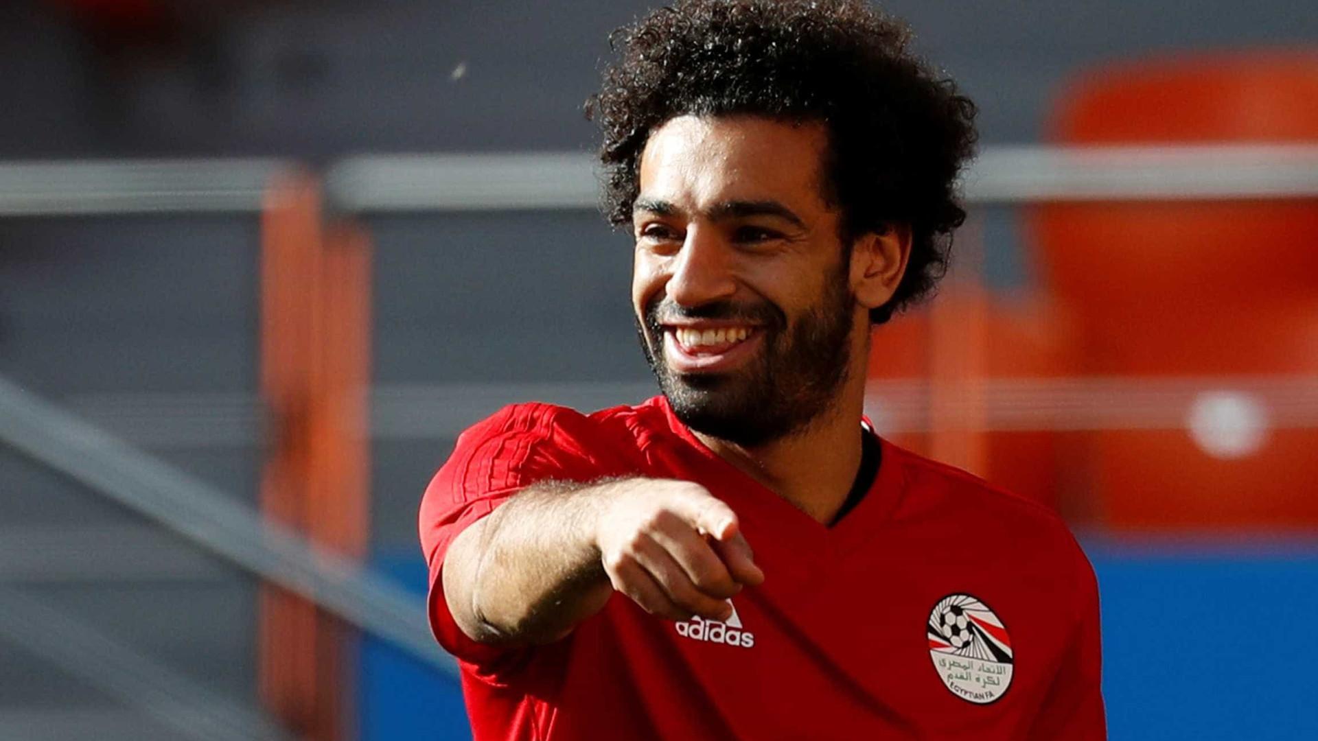 Técnico garante Salah na estreia do Egito na Copa