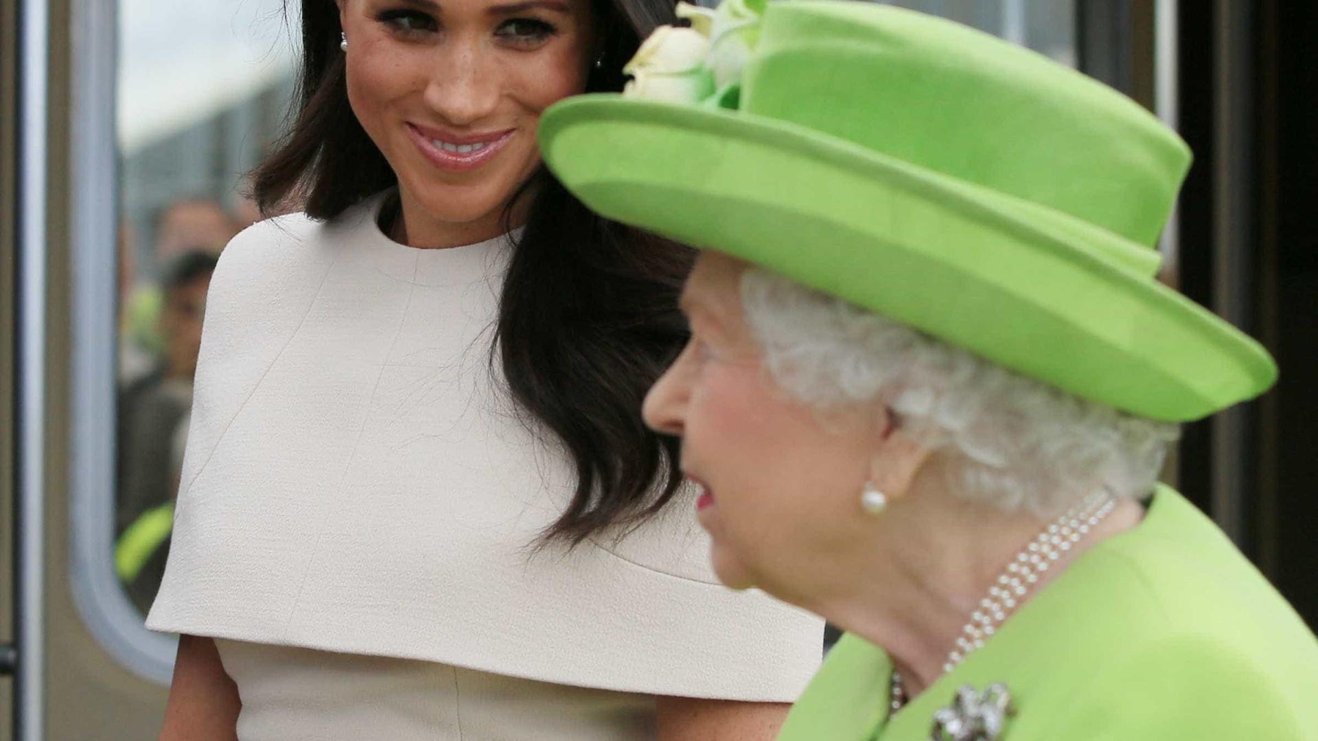Meghan Markle vai ao seu primeiro evento com a rainha