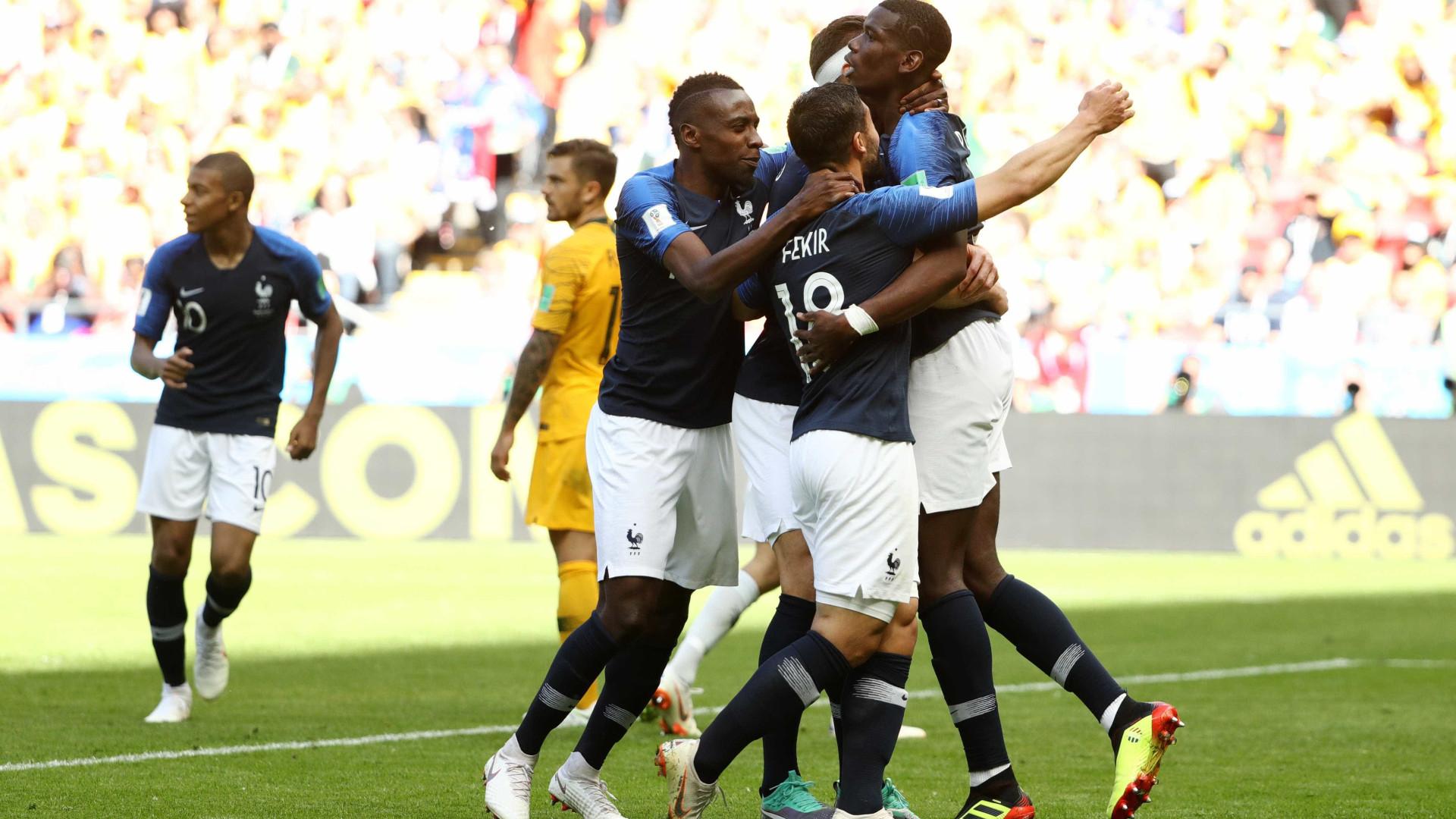 Com gol 'esquisitão' e uso de VAR, França sofre para vencer Austrália