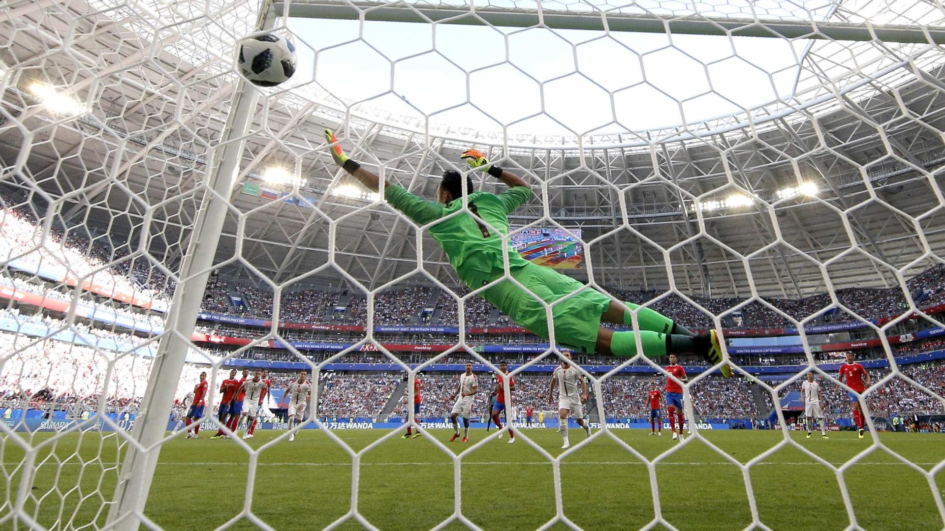 Pelo grupo do Brasil, Sérvia vence a Costa Rica em Samara