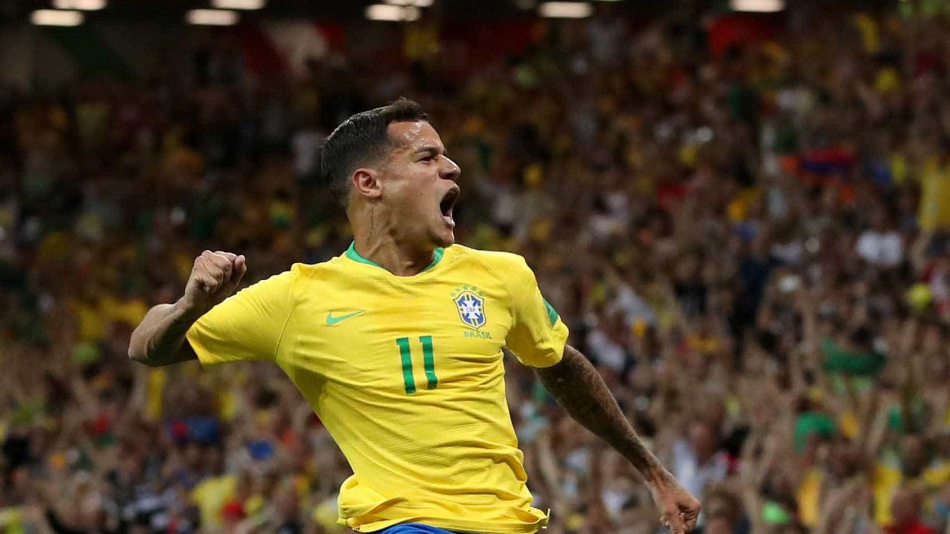 Compartilhe sua torcida pelo Brasil com efeito do Facebook