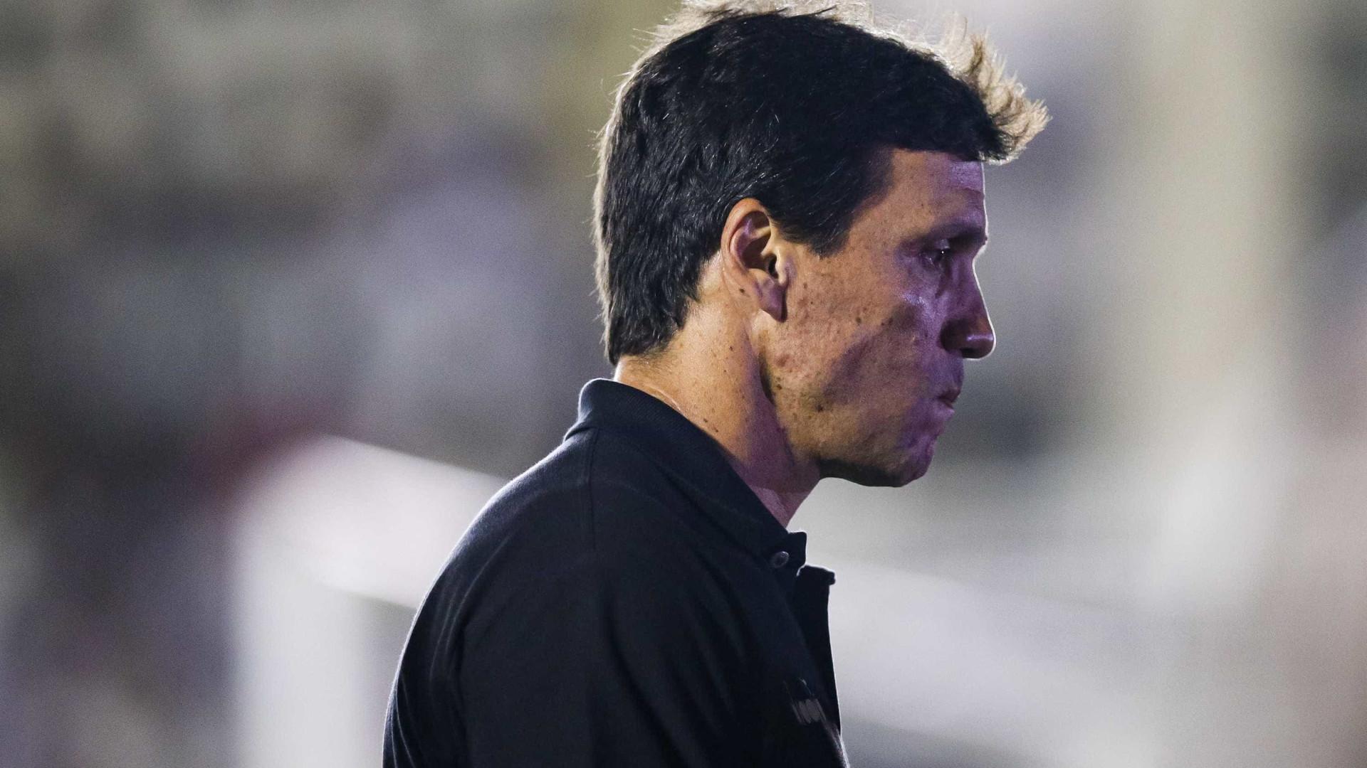 Zé Ricardo não aceita convite para substituir Abel no Fluminense