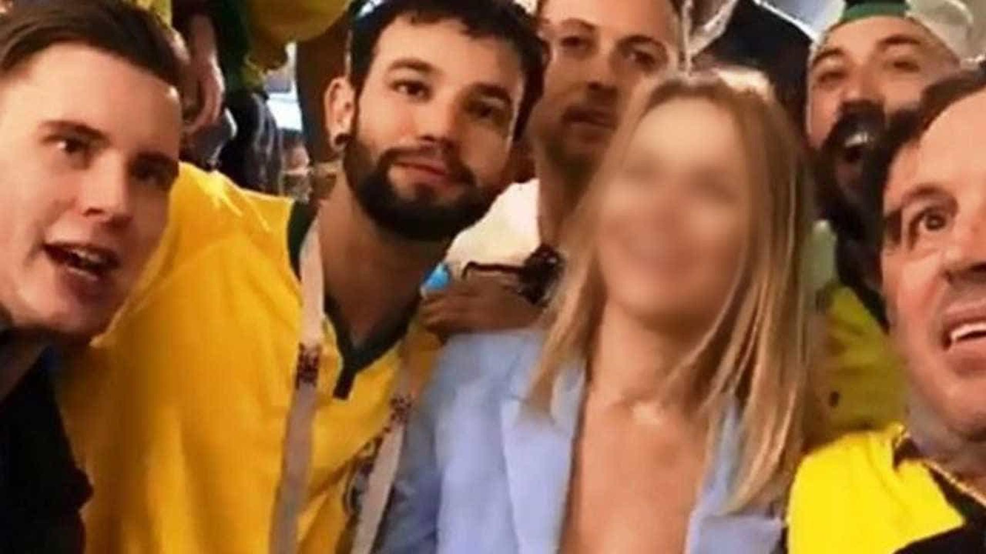 Jurista denuncia brasileiros que humilharam mulher na Rússia