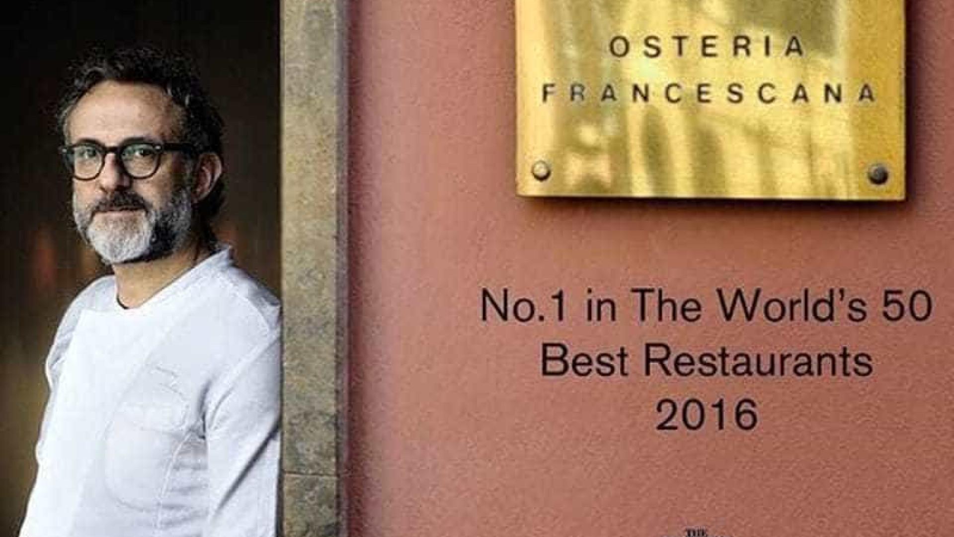 Chef Bottura: 'É na cozinha que a Itália ganha a Copa'