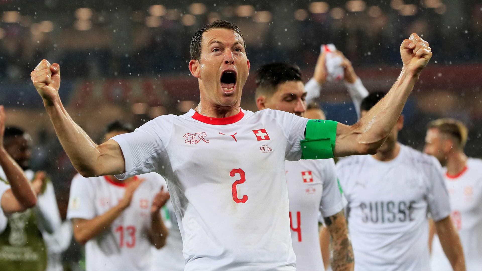 Suíça vence a Sérvia de virada em Kaliningrado