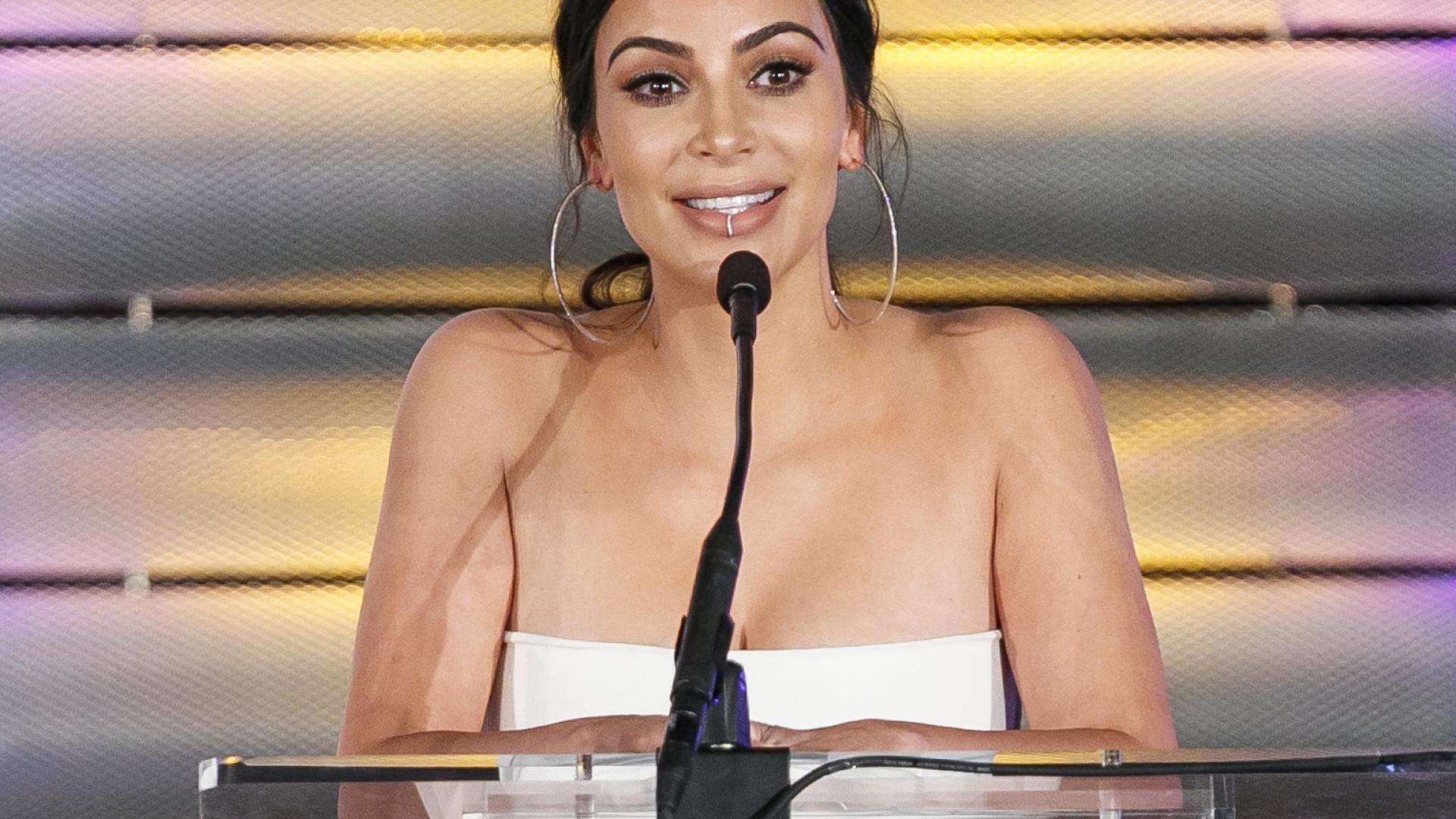 Kim Kardashian é processada por plagiar logotipo